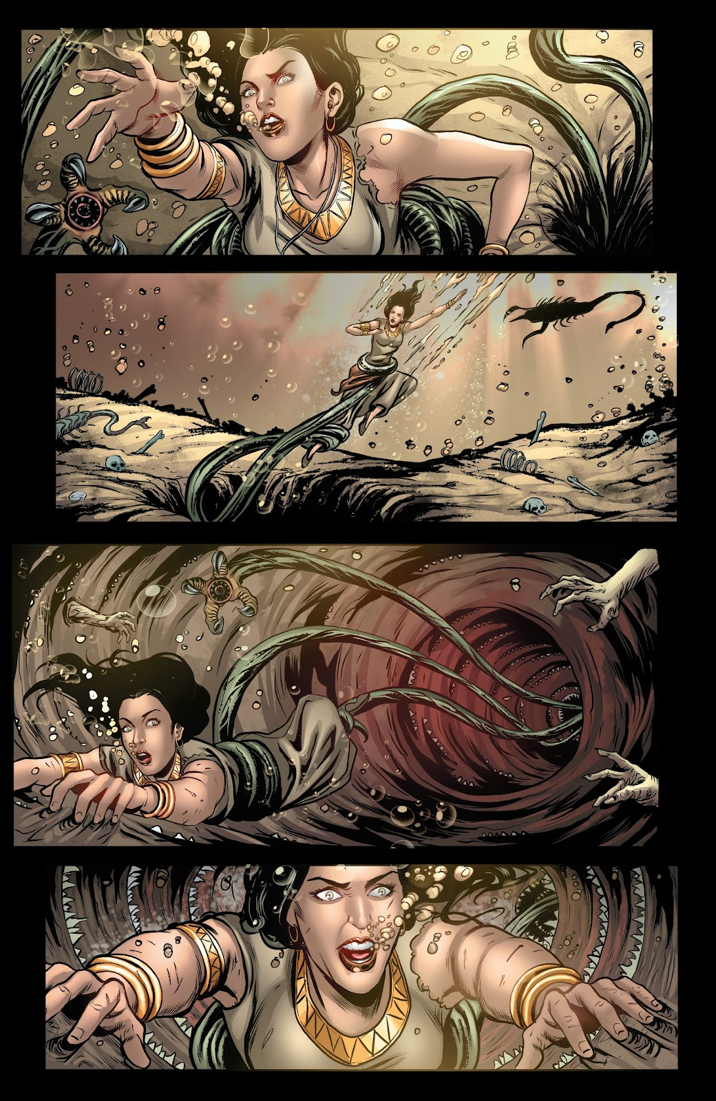 Read online Van Helsing: Sword of Heaven comic -  Issue #5 - 14