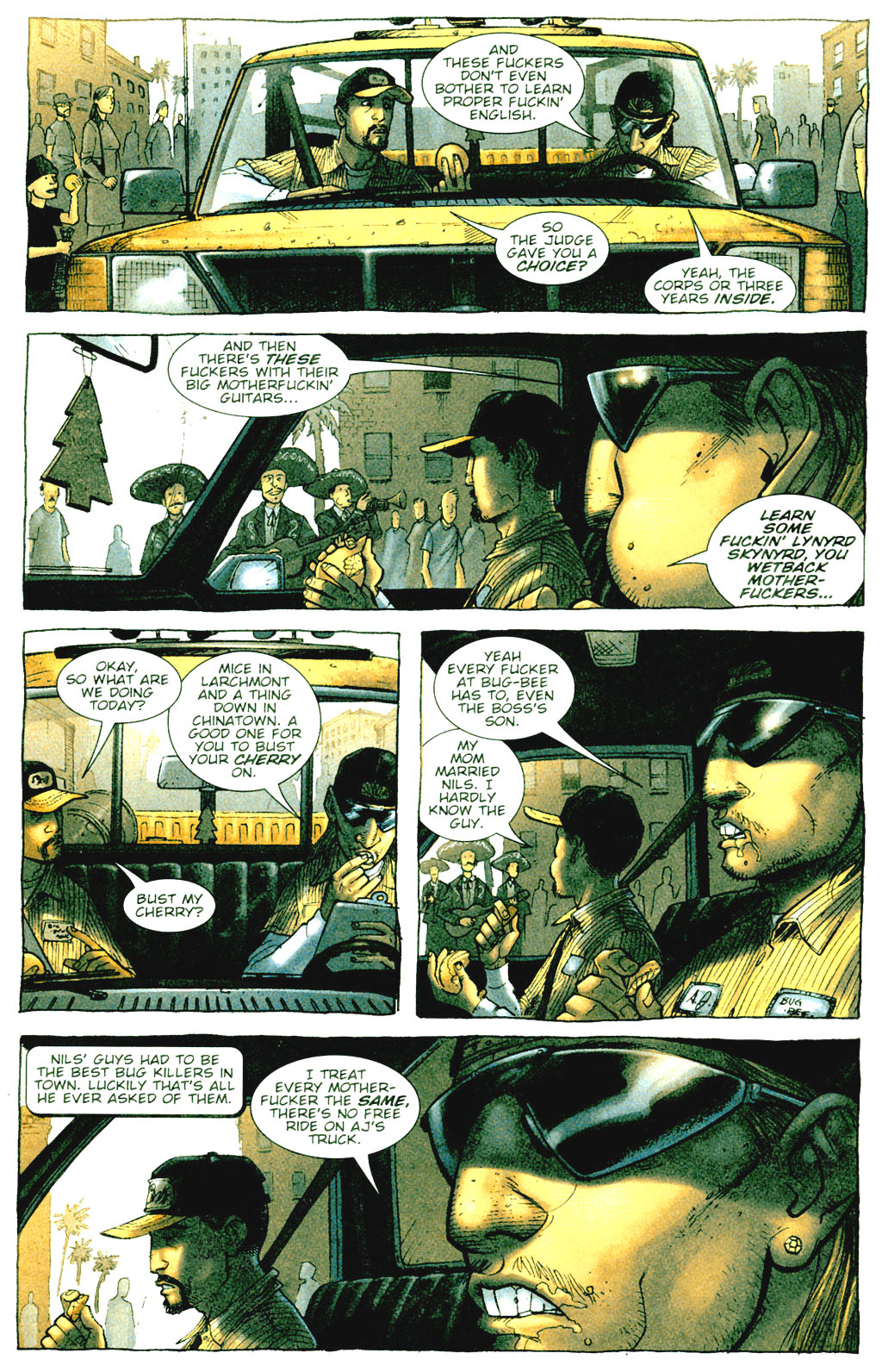 Read online The Exterminators comic -  Issue #1 - 8