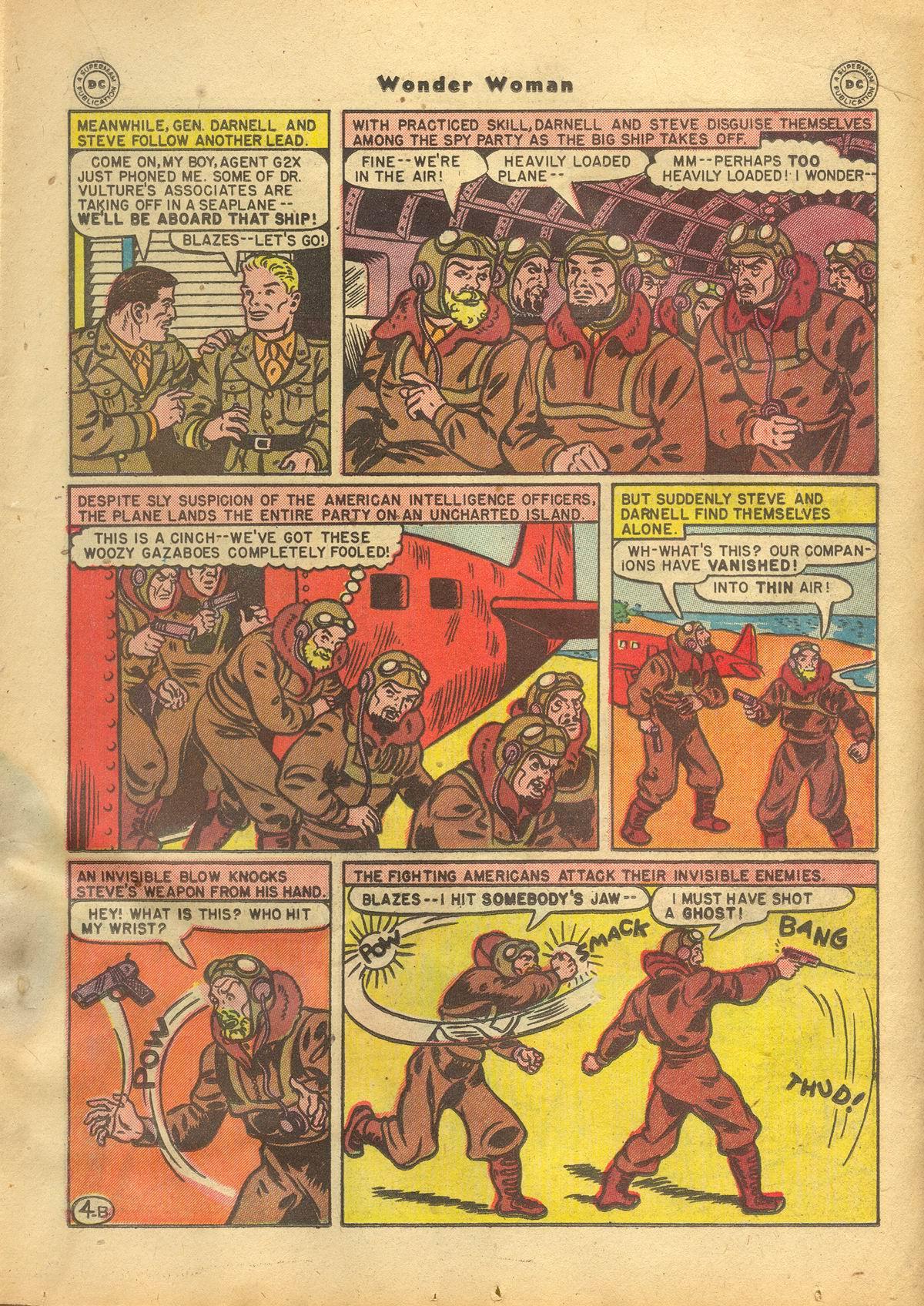 Read online Wonder Woman (1942) comic -  Issue #22 - 23