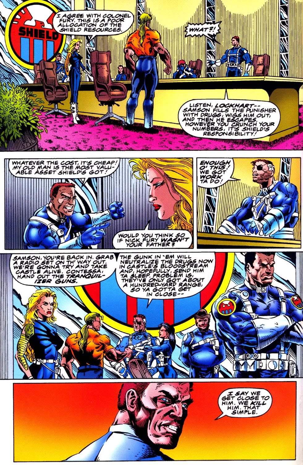 Read online Double Edge comic -  Issue # Issue Omega - 11