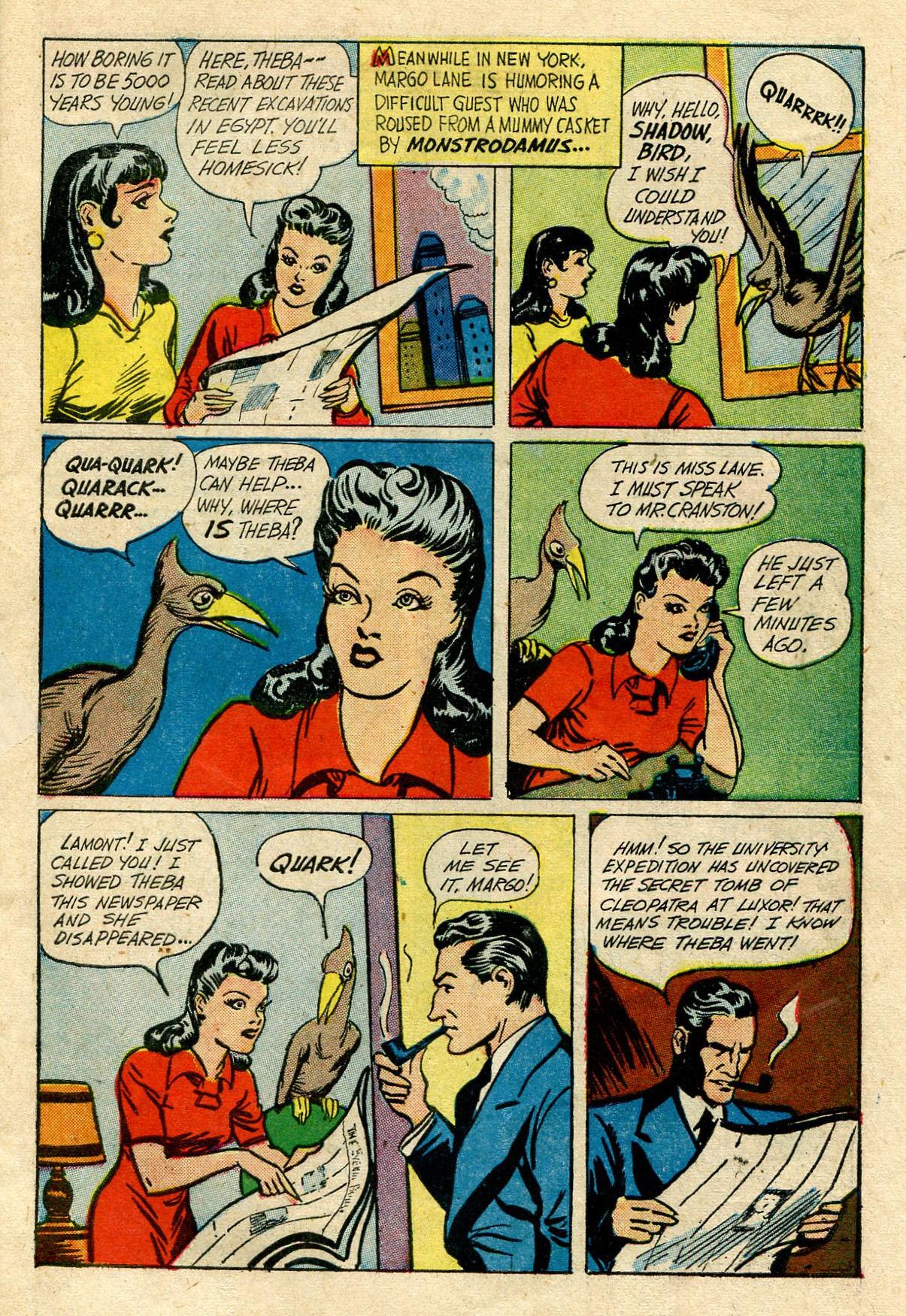 Read online Shadow Comics comic -  Issue #33 - 5