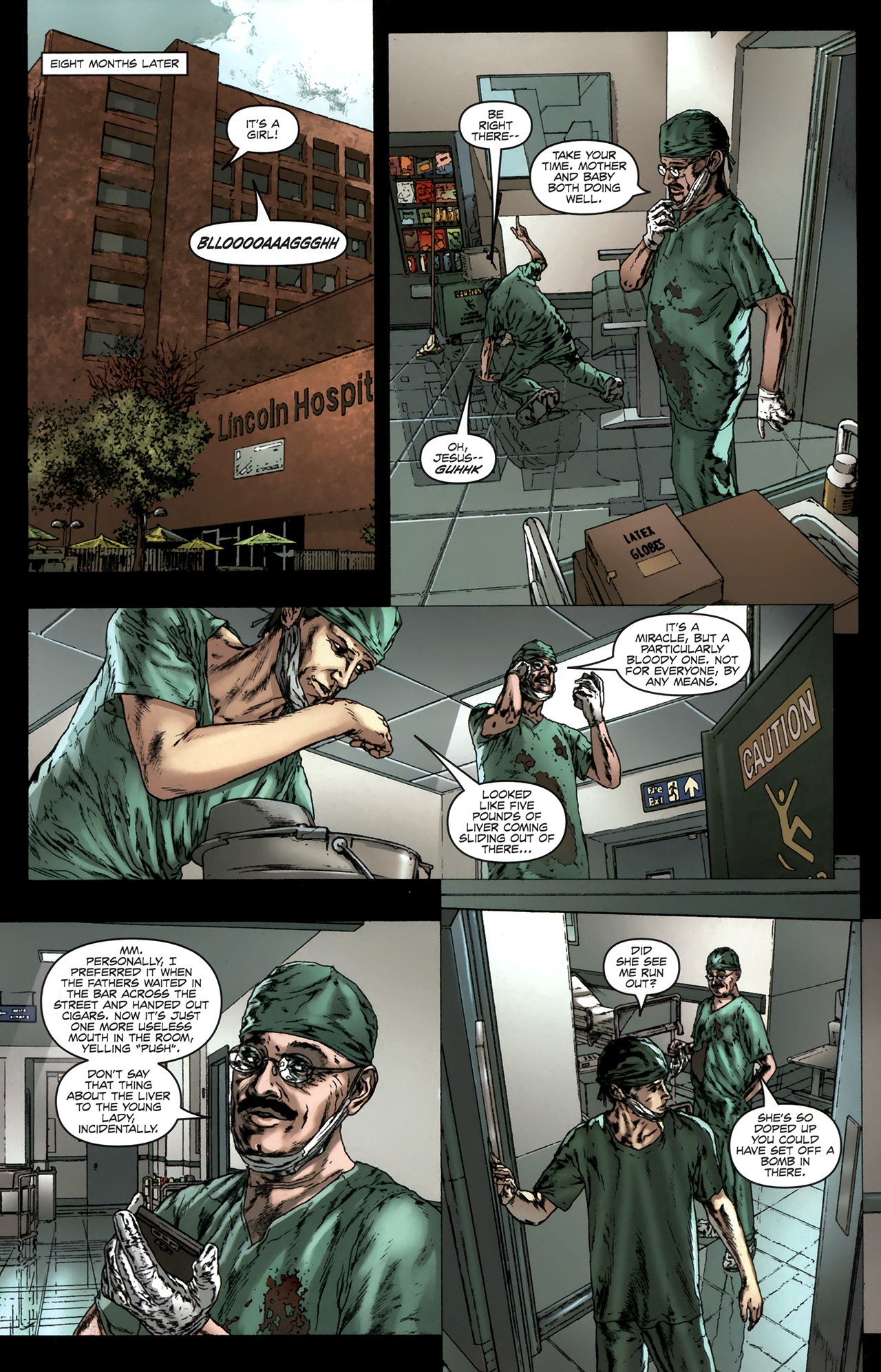 Read online Chronicles of Wormwood: The Last Battle comic -  Issue #6 - 22