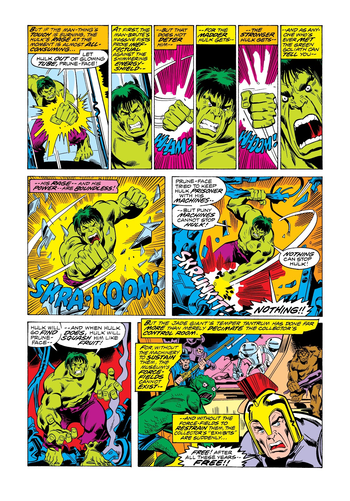 Read online Marvel Masterworks: The Incredible Hulk comic -  Issue # TPB 12 (Part 1) - 41