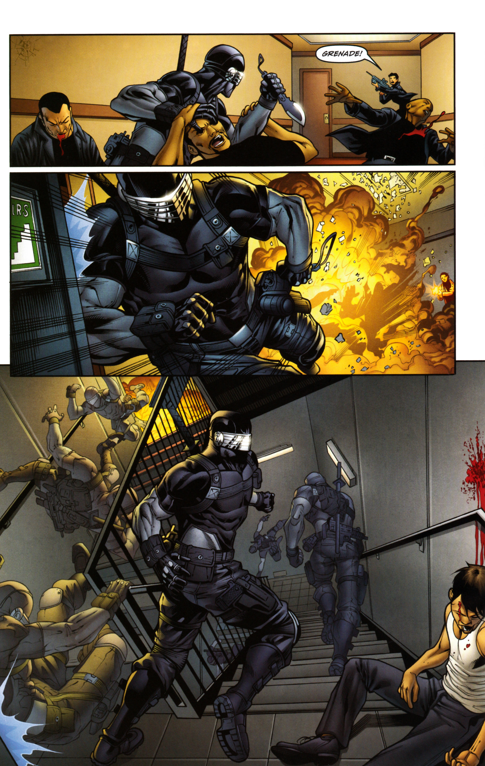Read online Snake Eyes and Storm Shadow comic -  Issue #14 - 19