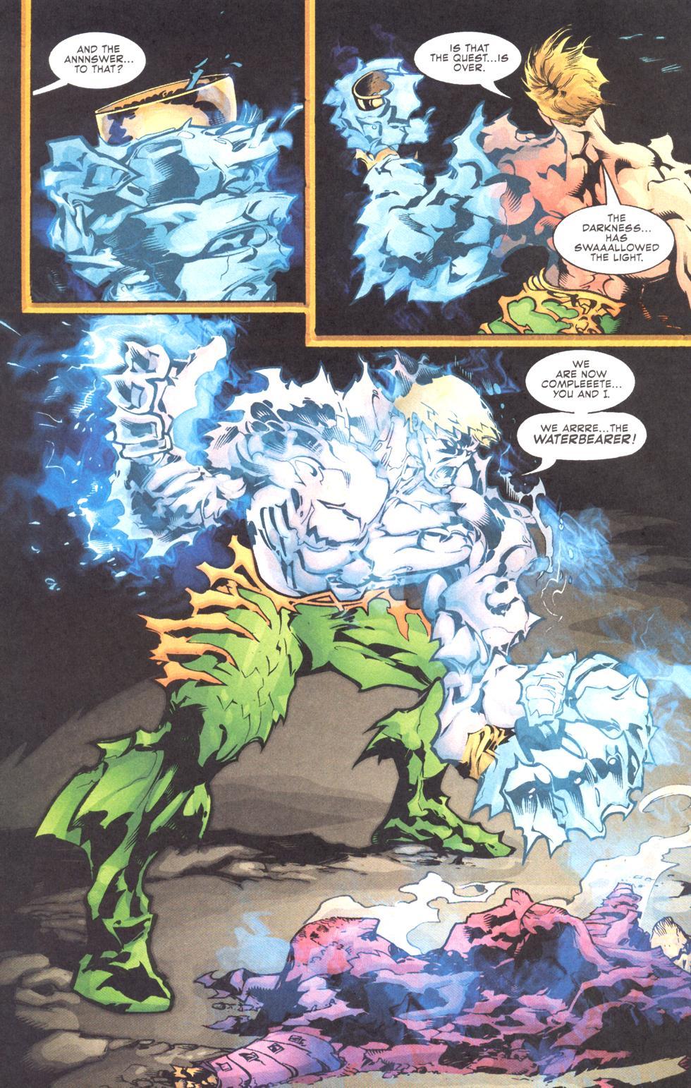 Read online Aquaman (2003) comic -  Issue #11 - 22
