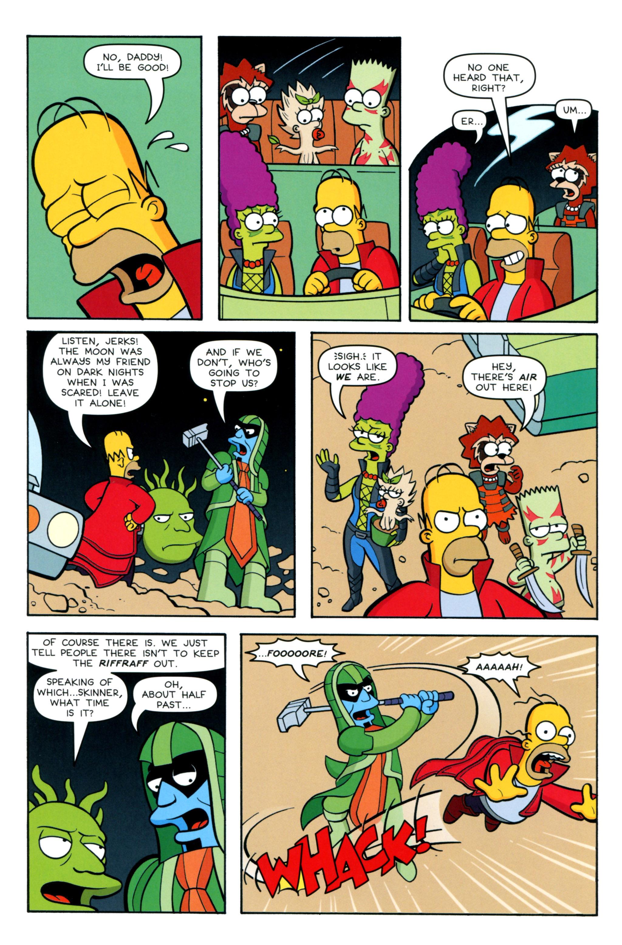 Read online Simpsons Comics comic -  Issue #218 - 10