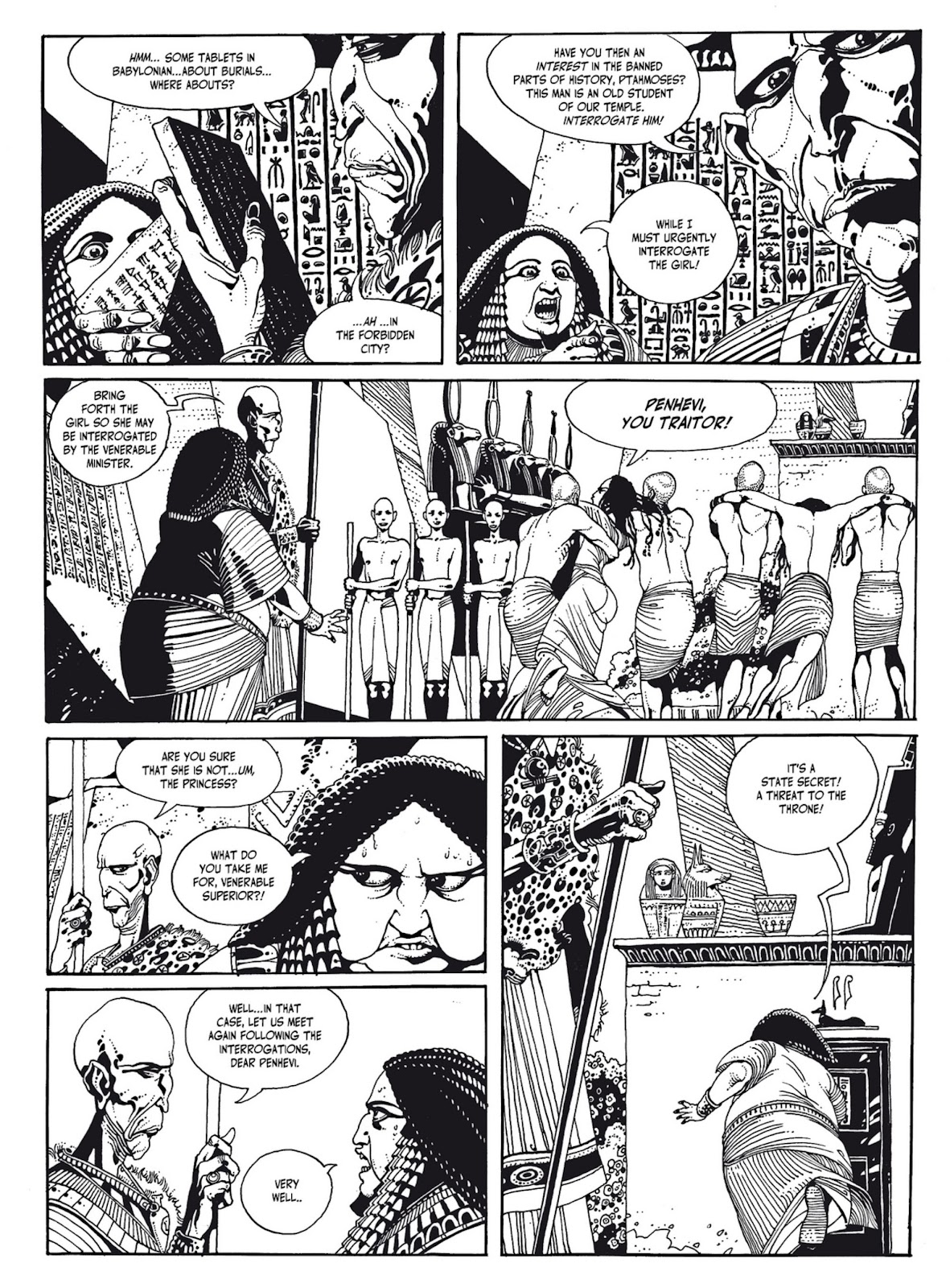 Read online The Egyptian Princesses comic -  Issue # TPB 1 (Part 1) - 87