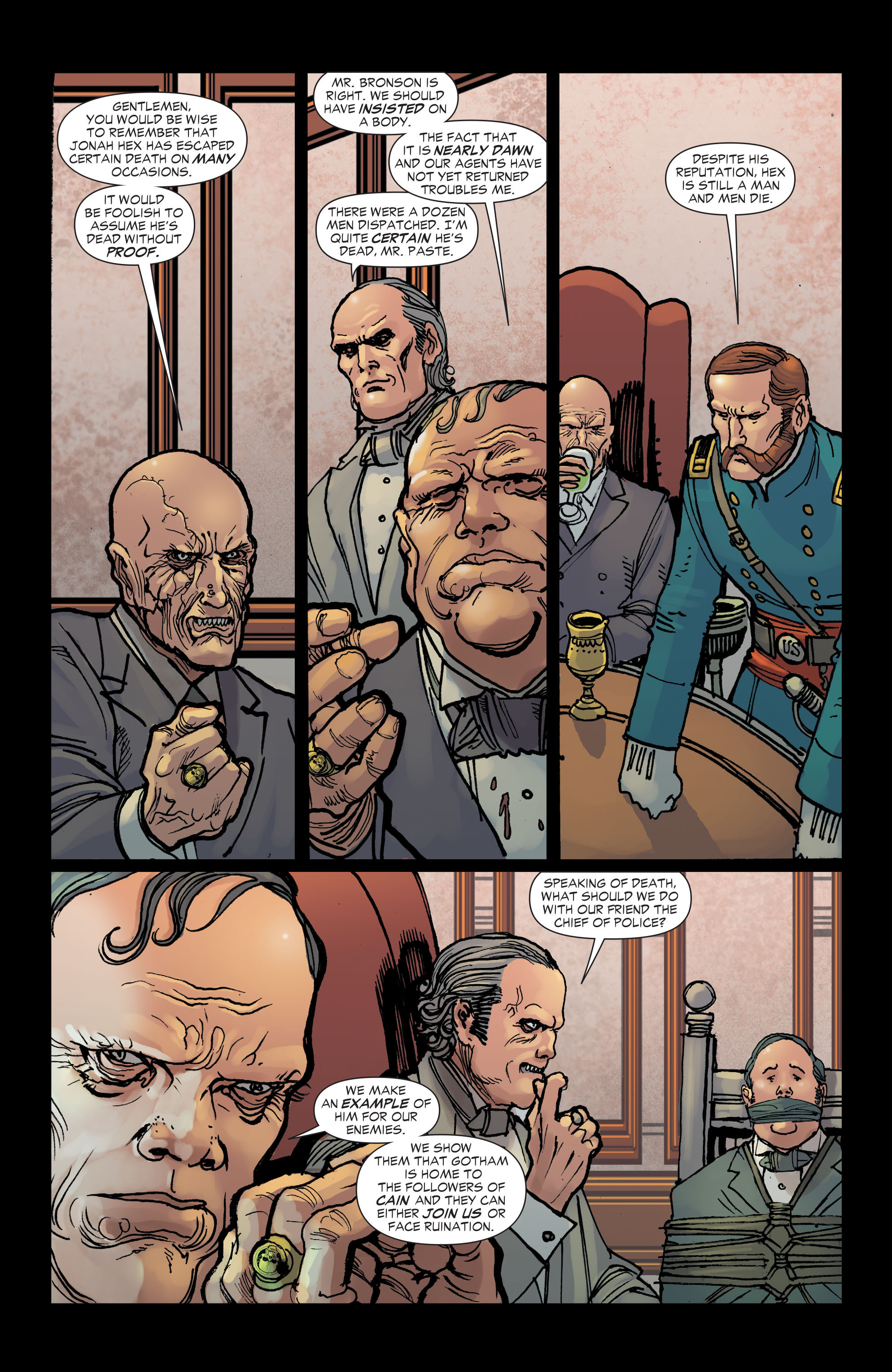 Read online All-Star Western (2011) comic -  Issue #2 - 15