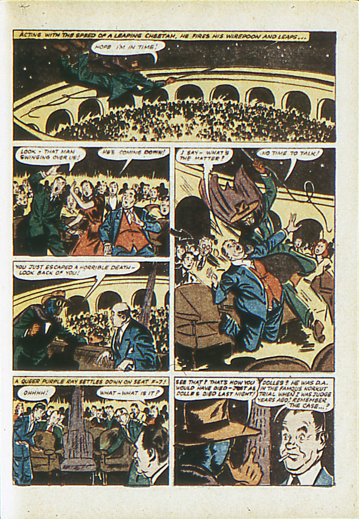 Read online Adventure Comics (1938) comic -  Issue #62 - 64