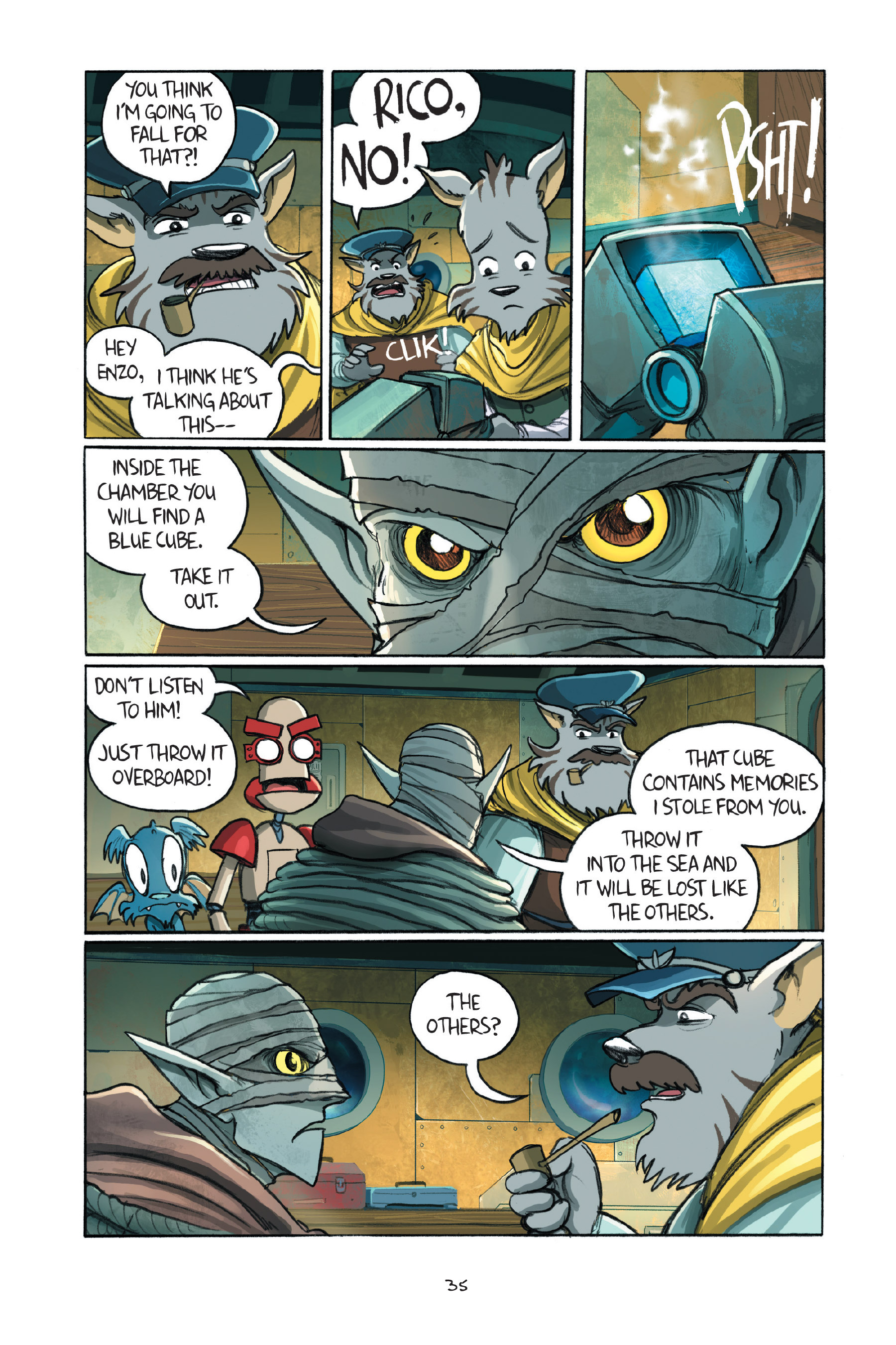 Read online Amulet comic -  Issue #7 - 38