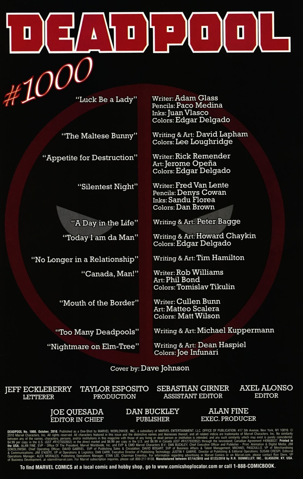 Read online Deadpool (2008) comic -  Issue #1000 - 3