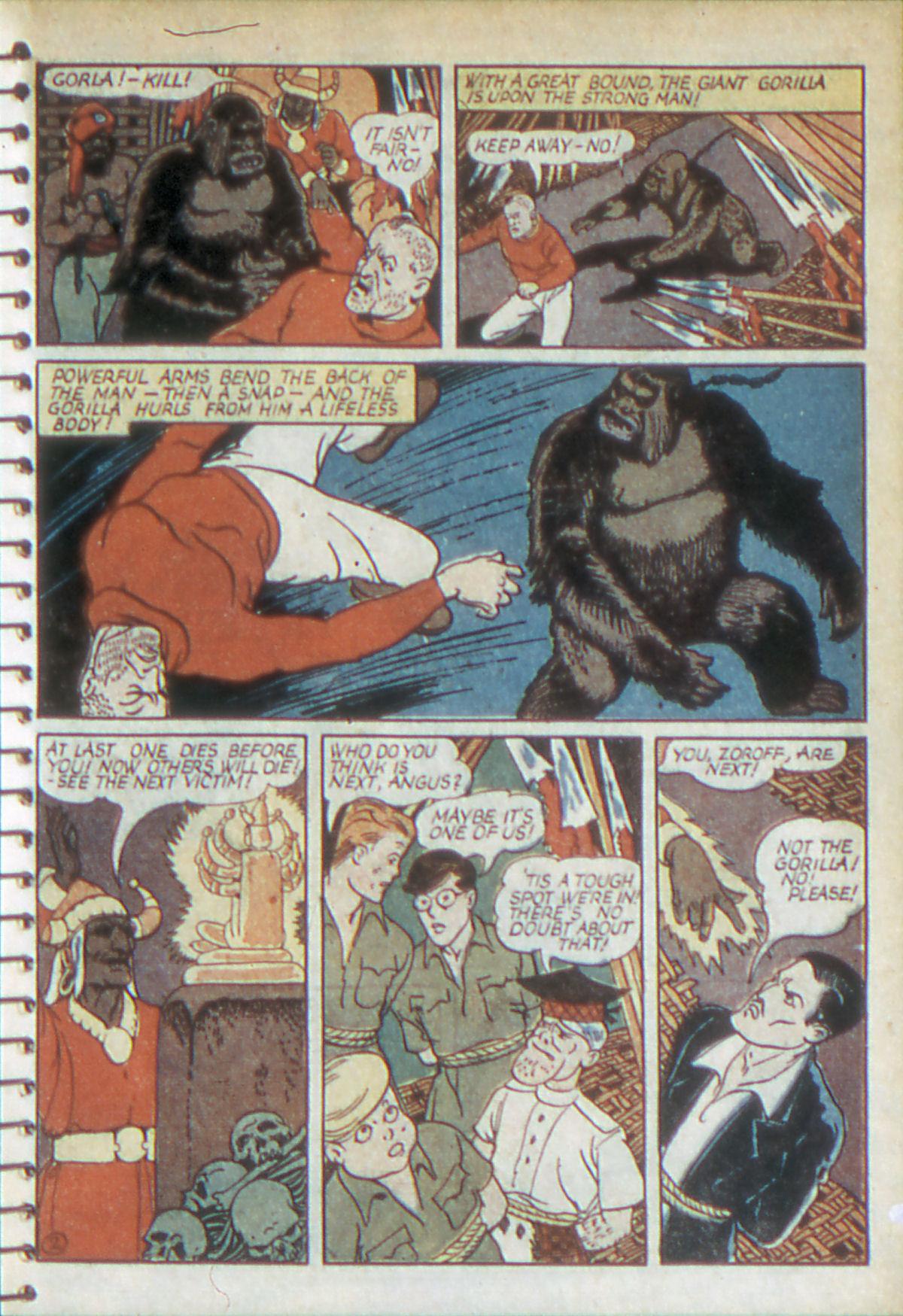 Read online Adventure Comics (1938) comic -  Issue #52 - 16