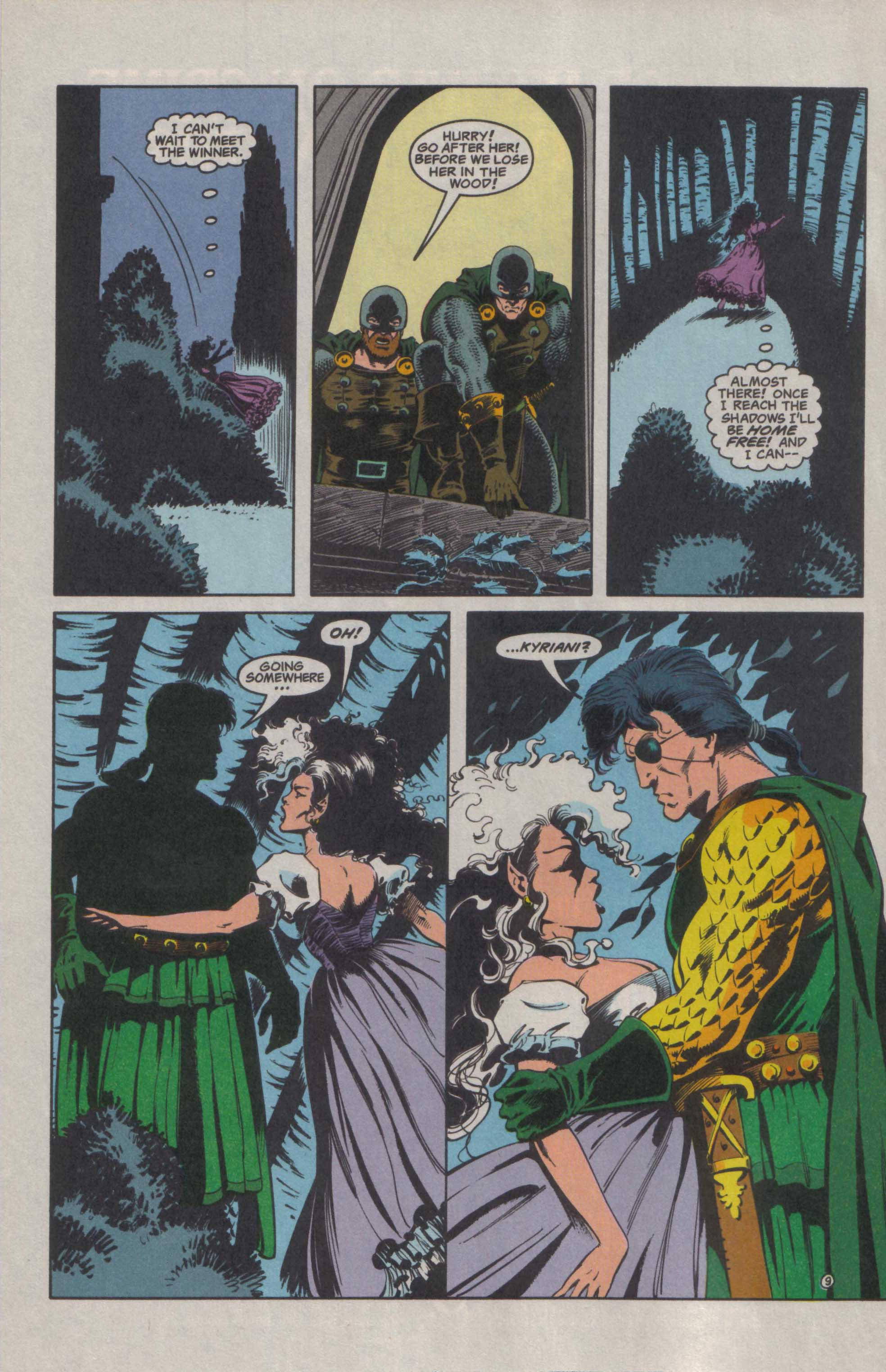 Read online Advanced Dungeons & Dragons comic -  Issue #27 - 10