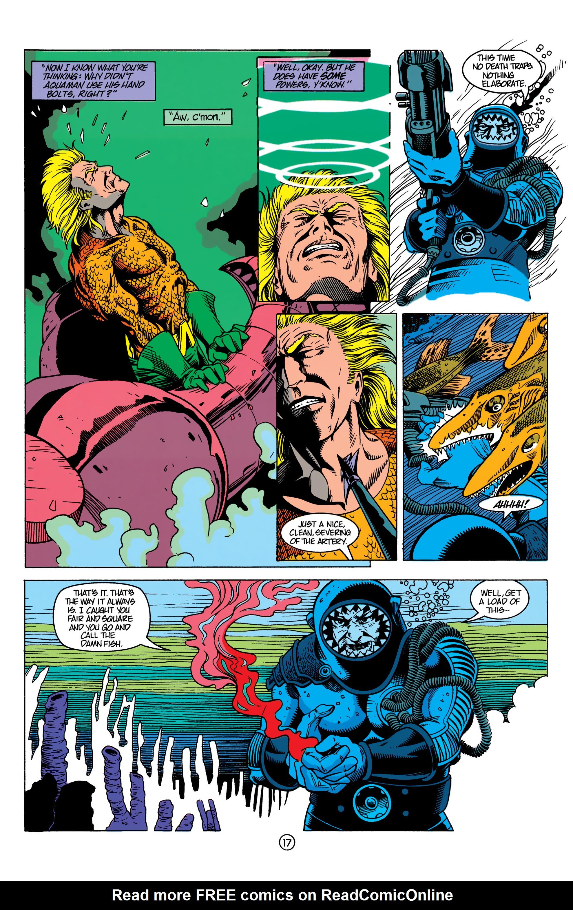 Read online Aquaman (1991) comic -  Issue #13 - 18