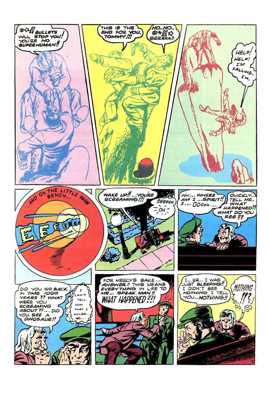 Read online Will Eisner's The Spirit Archives comic -  Issue # TPB 3 (Part 1) - 48
