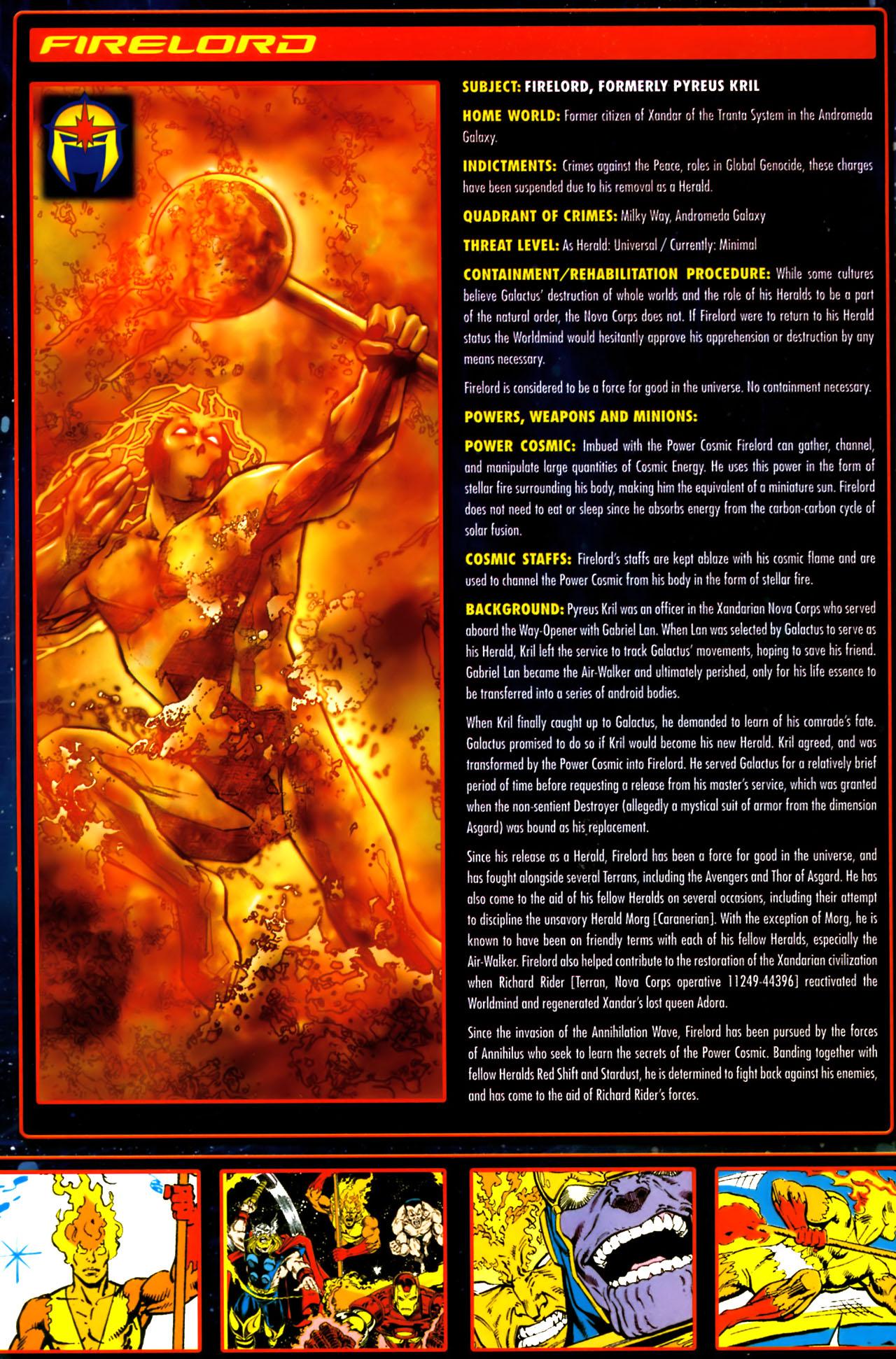 Read online Annihilation:  The  Nova Corps Files comic -  Issue #Annihilation:  The  Nova Corps Files Full - 14