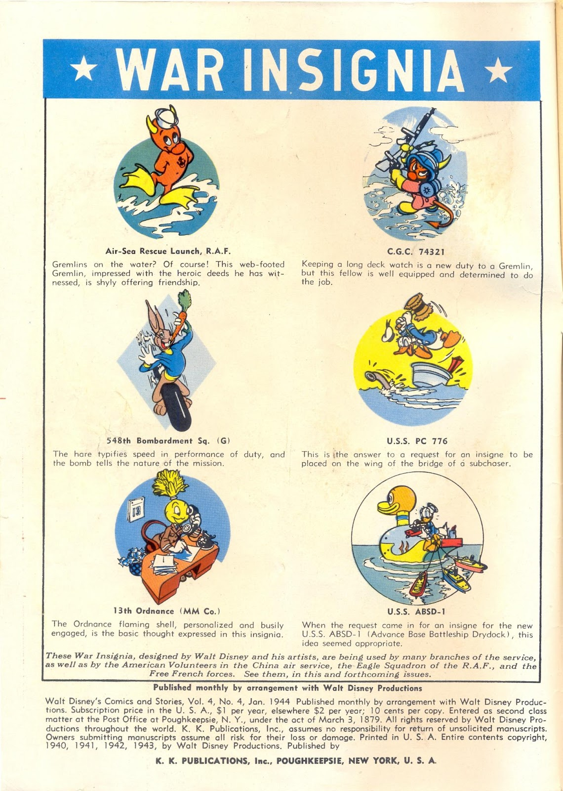 Walt Disney's Comics and Stories issue 40 - Page 2