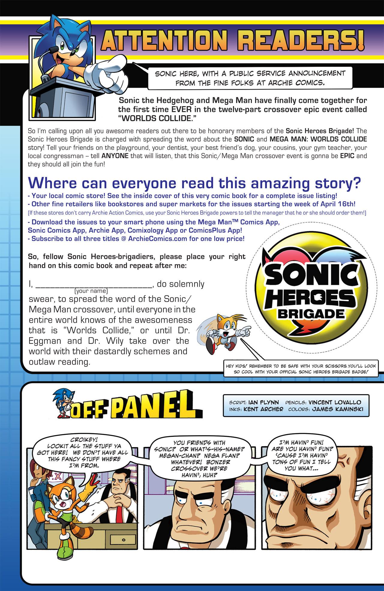 Read online Sonic Mega Man Worlds Collide comic -  Issue # Vol 2 - 55