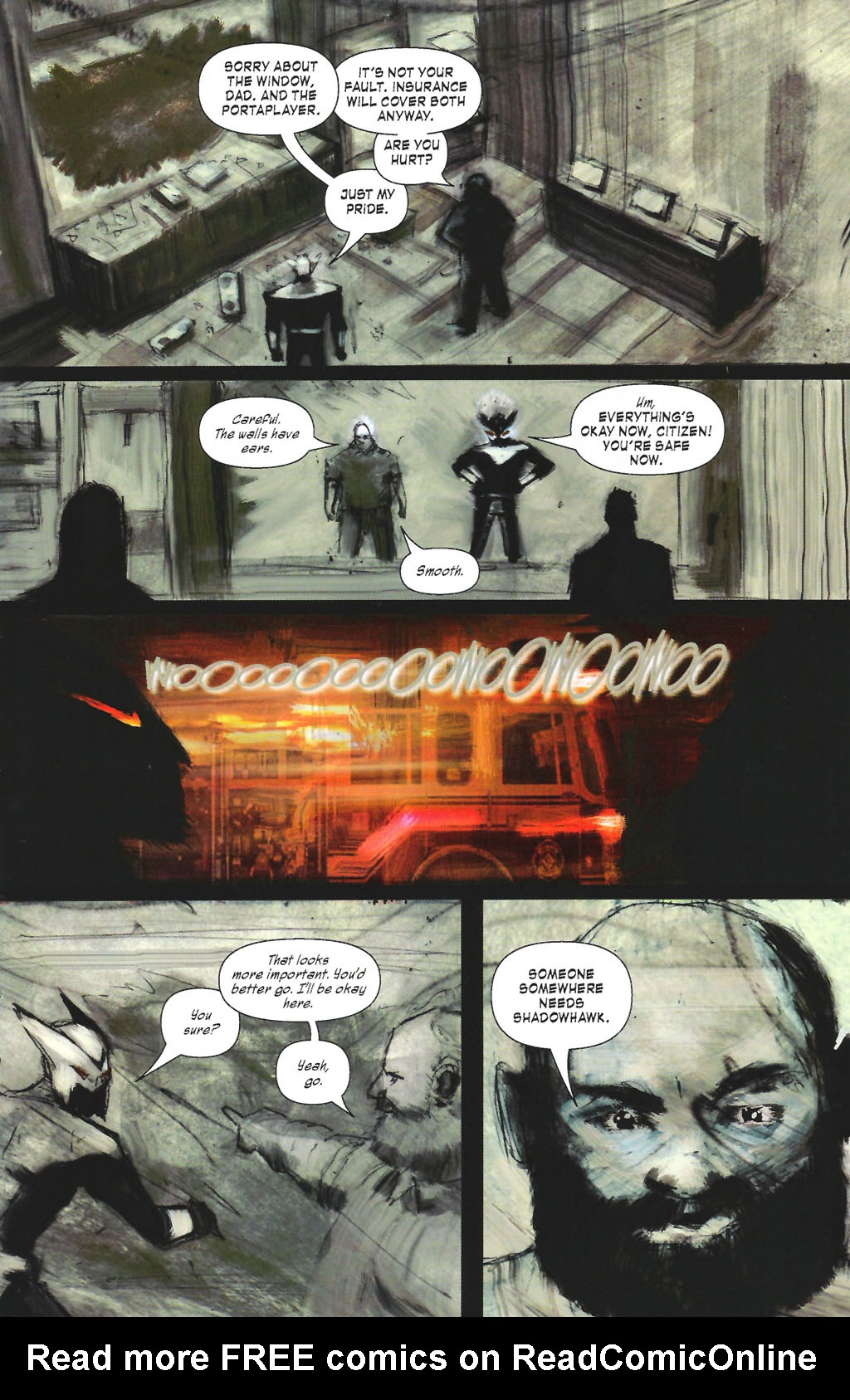 Read online ShadowHawk (2005) comic -  Issue #7 - 15