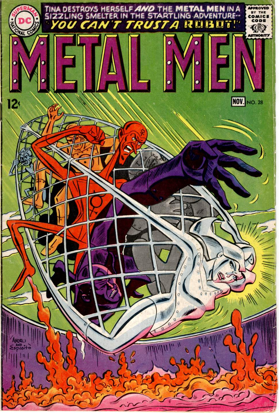 Metal Men (1963) issue 28 - Page 1