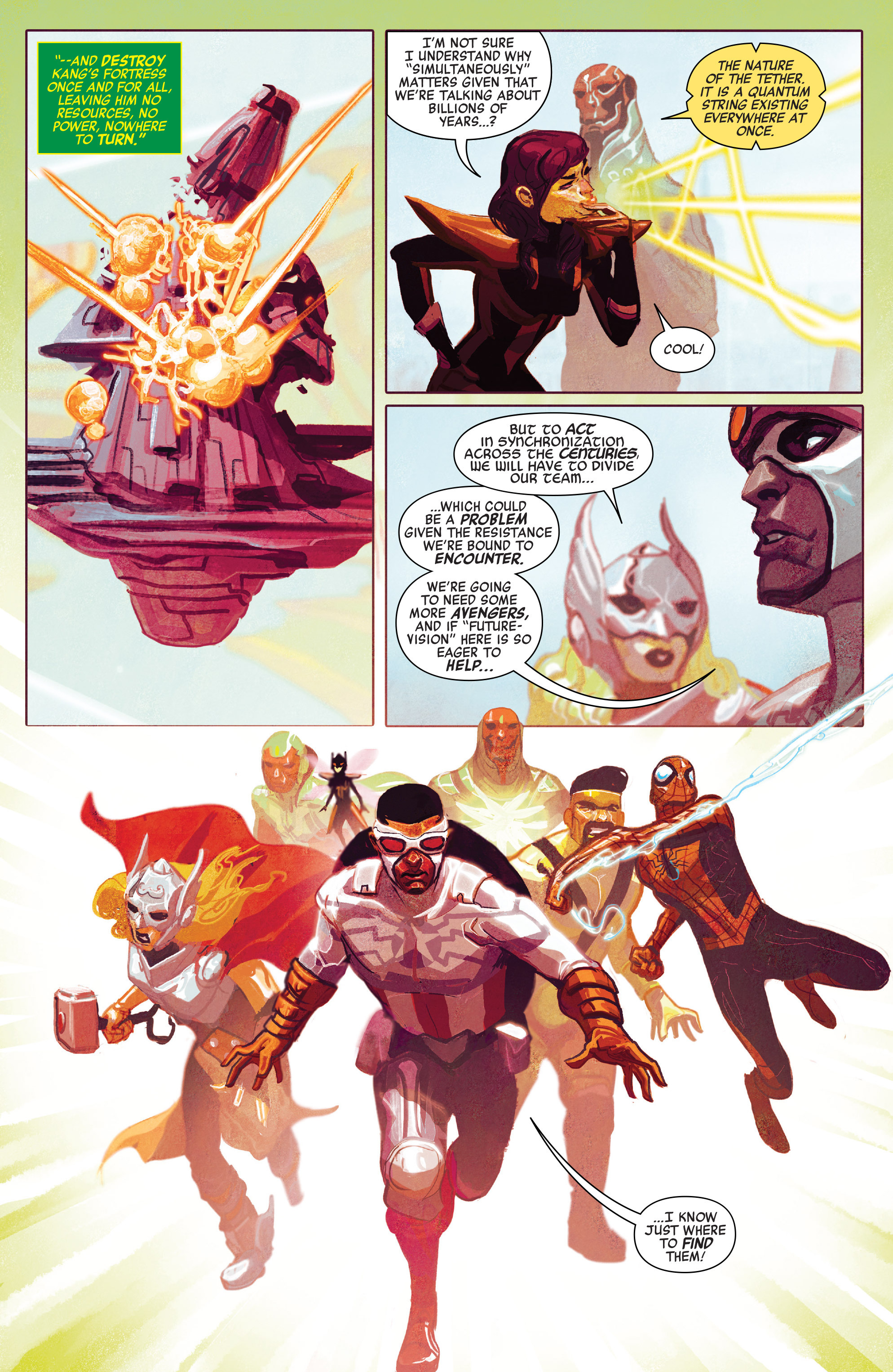 Read online Avengers (2016) comic -  Issue #5 - 7