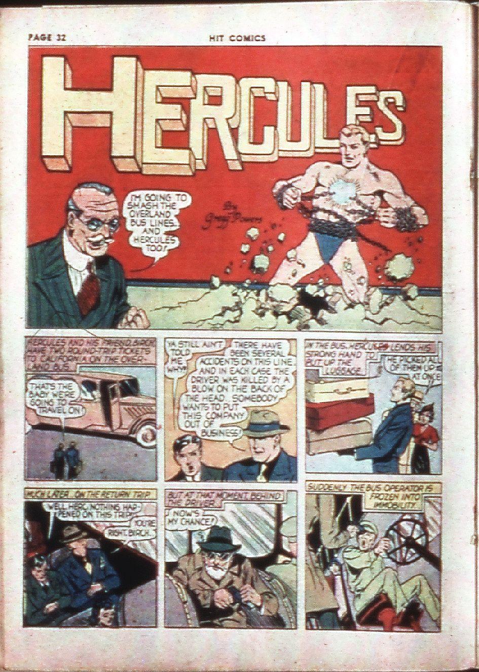 Read online Hit Comics comic -  Issue #4 - 34