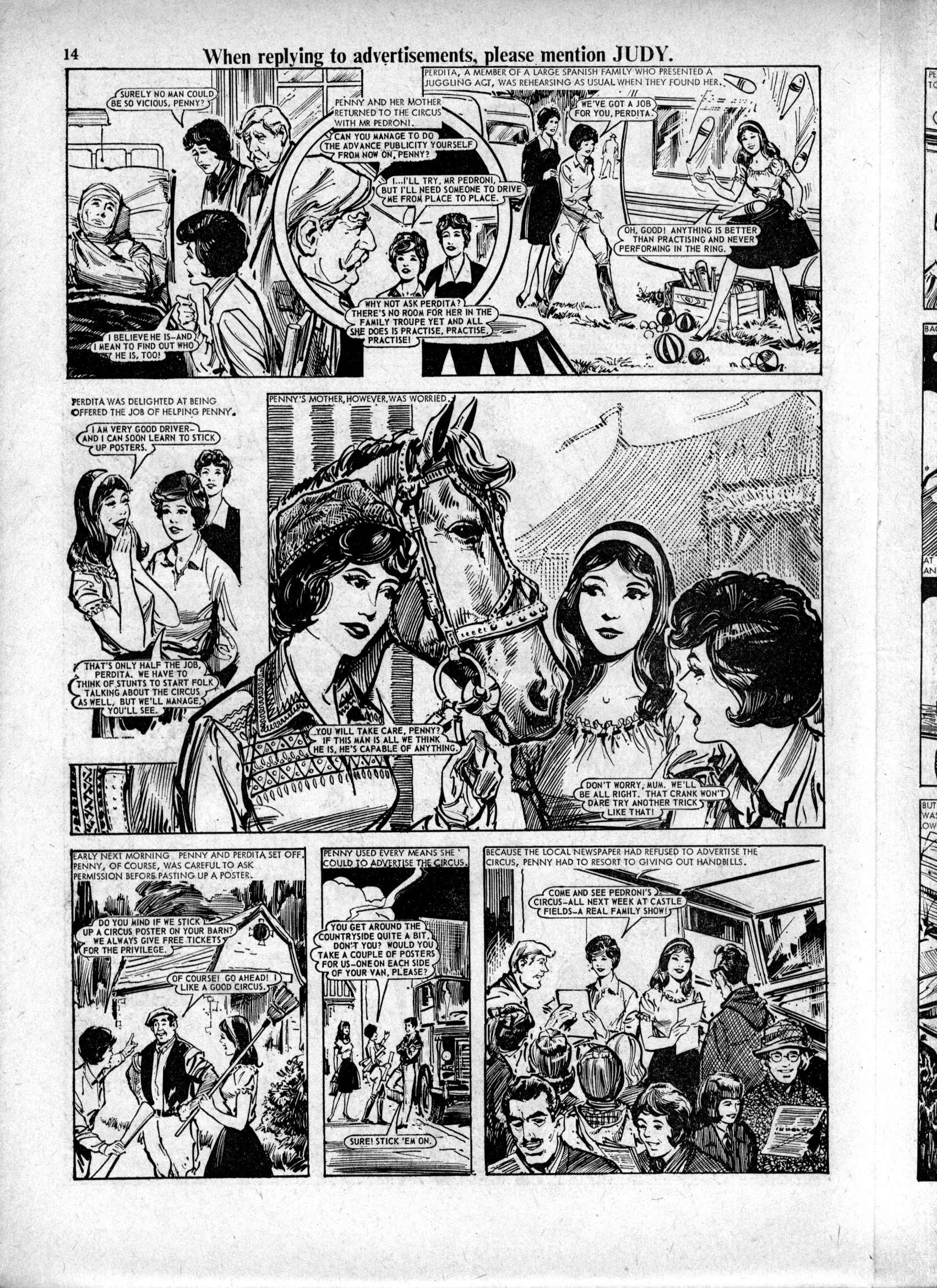 Read online Judy comic -  Issue #224 - 14