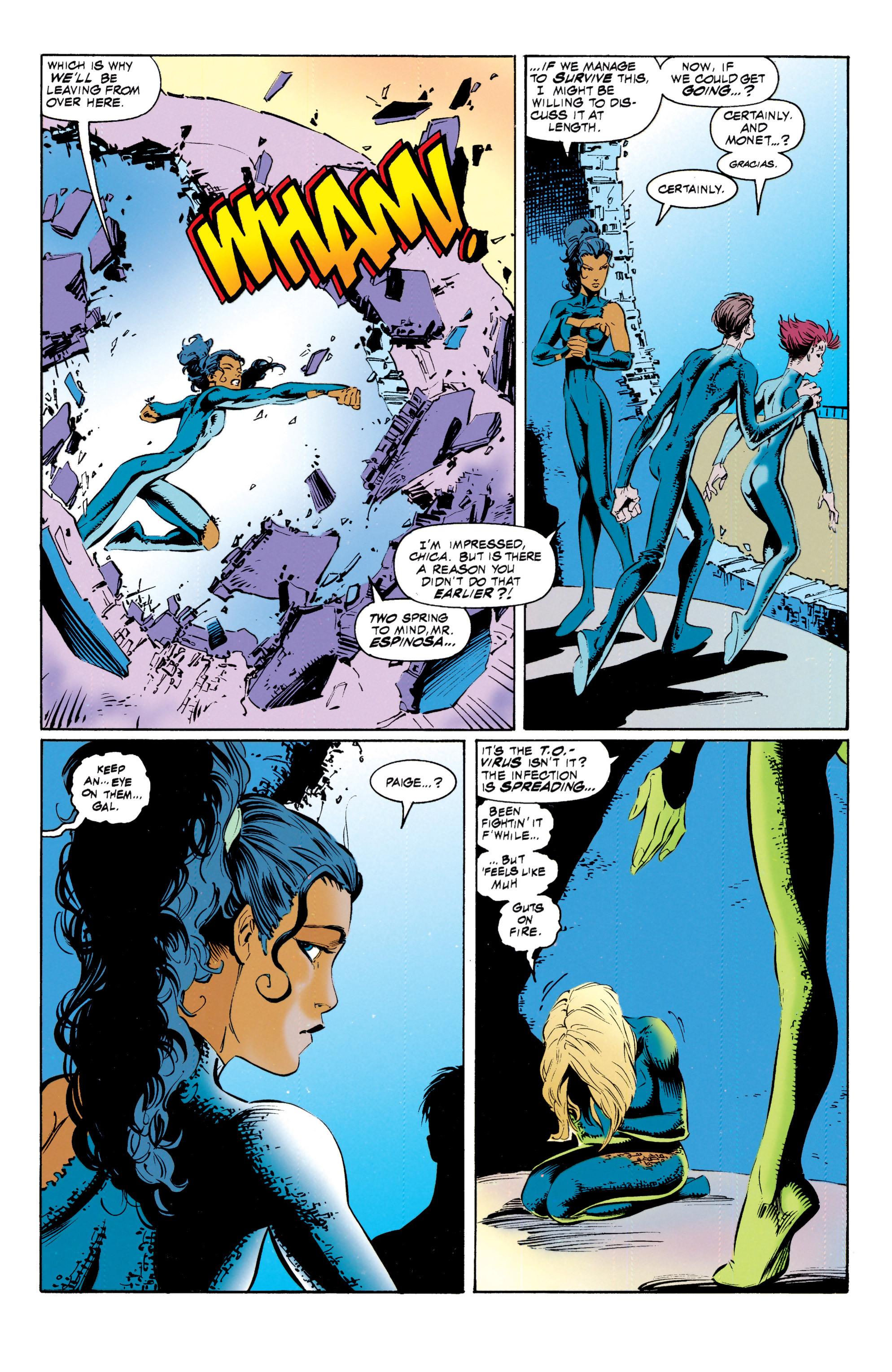 Read online Uncanny X-Men (1963) comic -  Issue #317 - 22