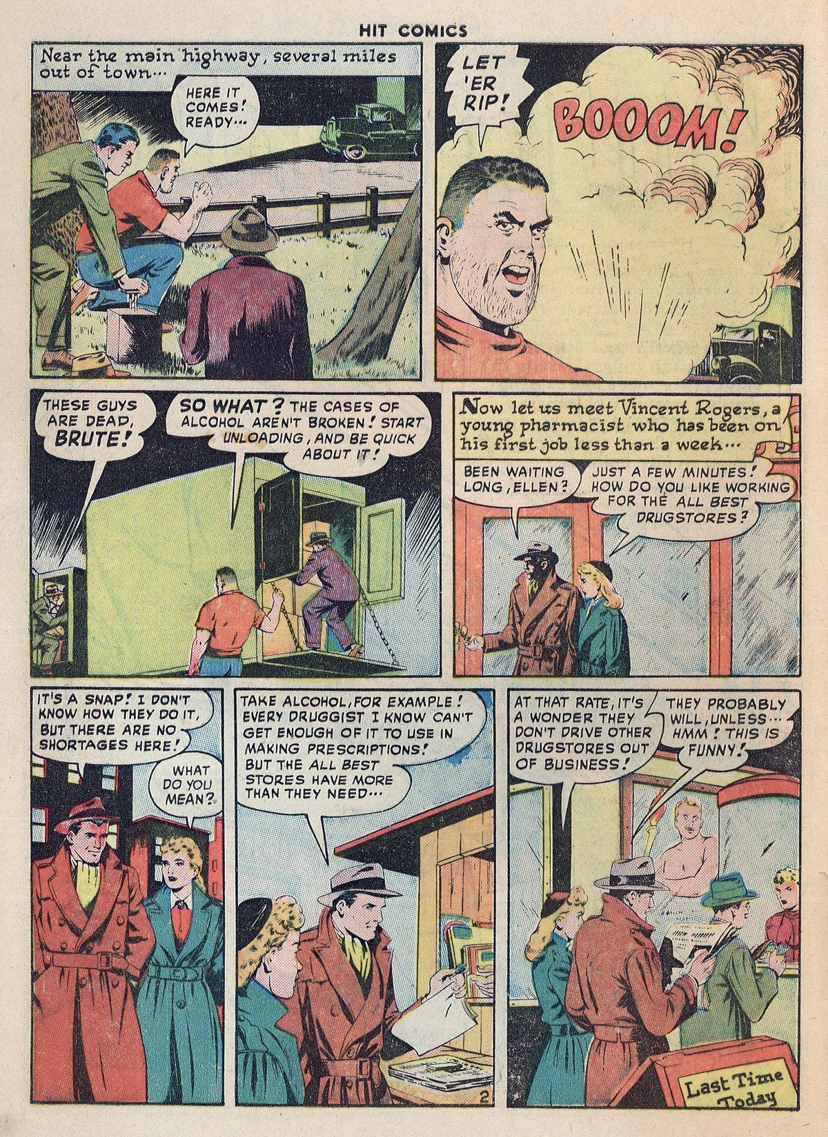 Read online Hit Comics comic -  Issue #55 - 4