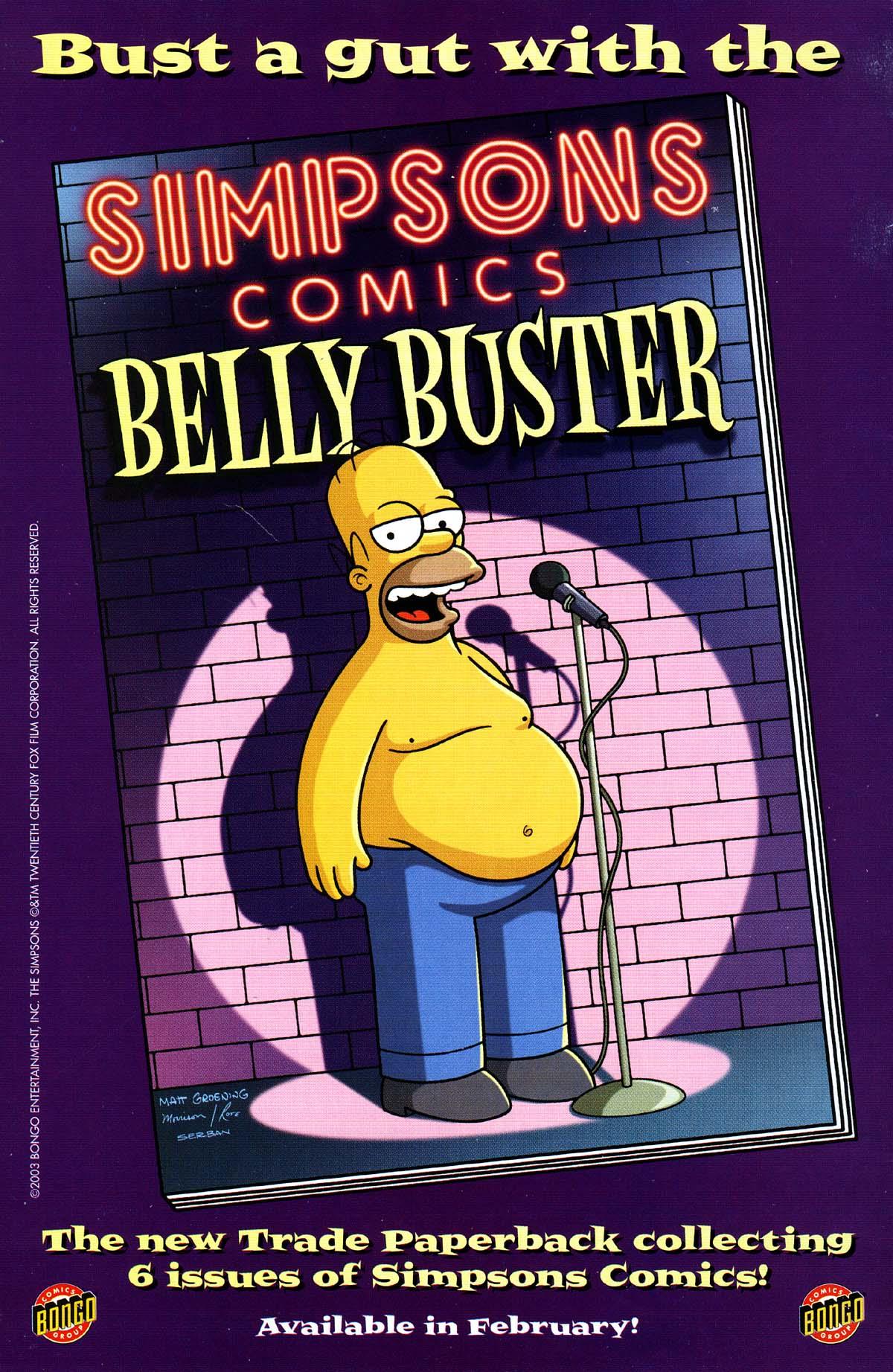 Read online Simpsons Comics Presents Bart Simpson comic -  Issue #15 - 36