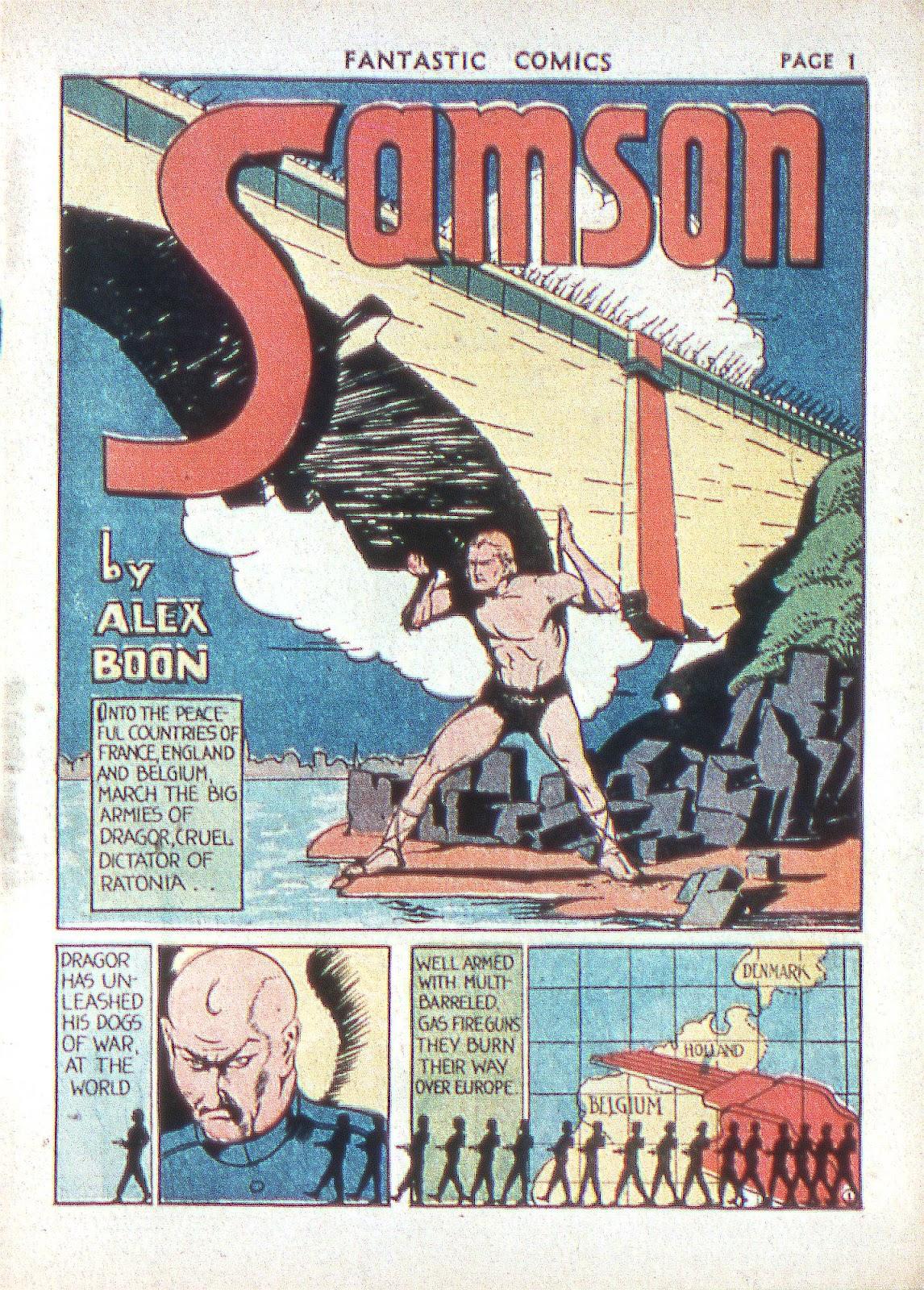 Read online Fantastic Comics comic -  Issue #2 - 4