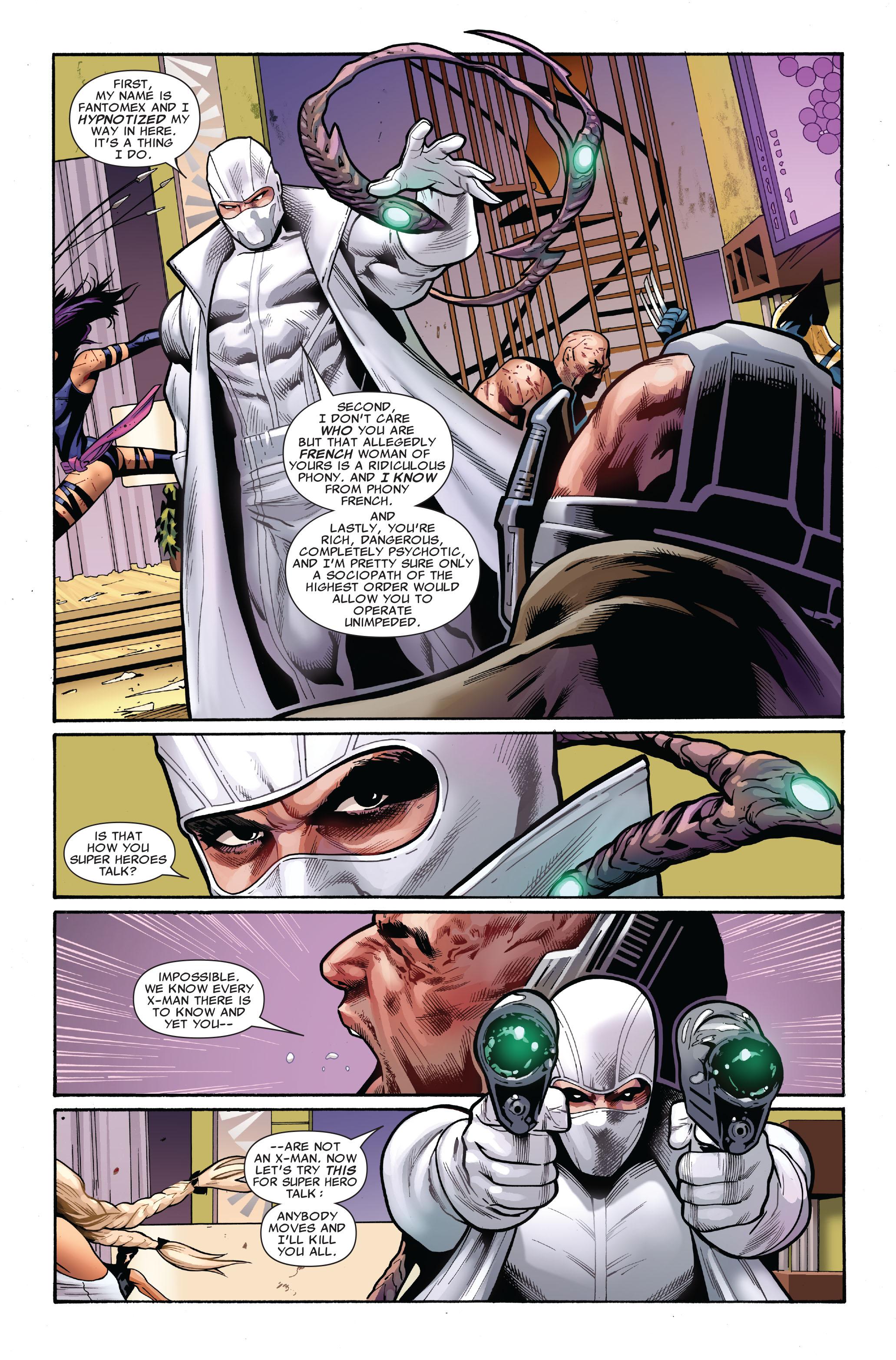 Read online Uncanny X-Men (1963) comic -  Issue #521 - 9
