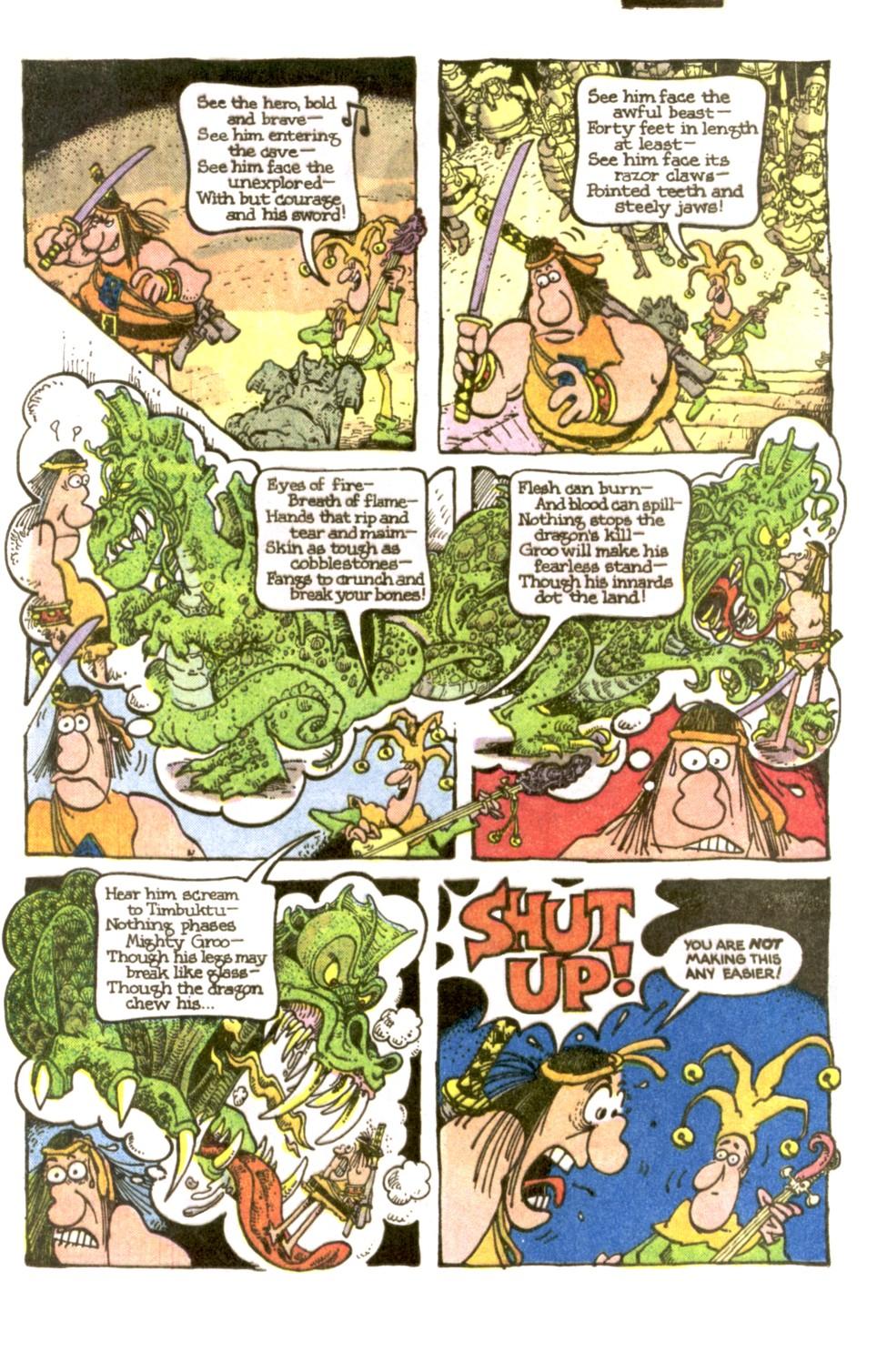 Read online Sergio Aragonés Groo the Wanderer comic -  Issue #2 - 11