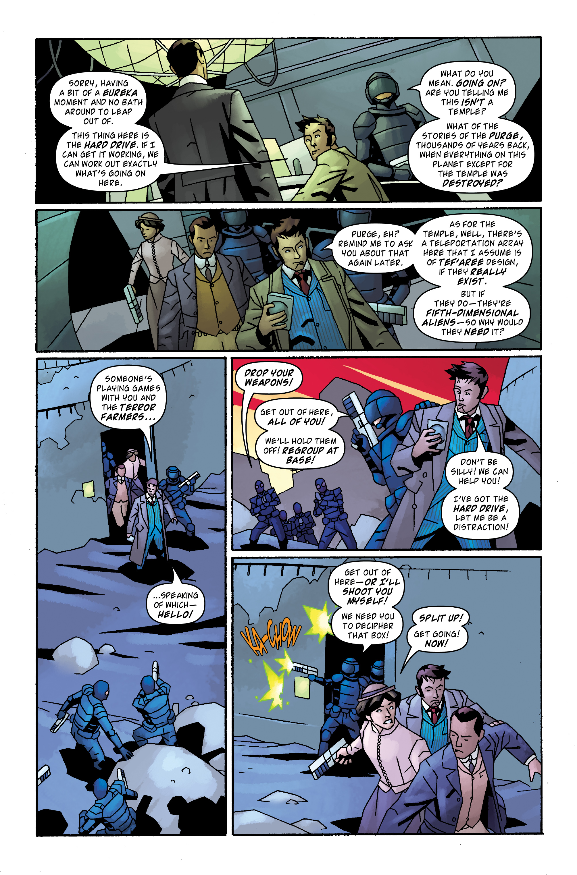 Read online Doctor Who: The Tenth Doctor Archives comic -  Issue #32 - 17