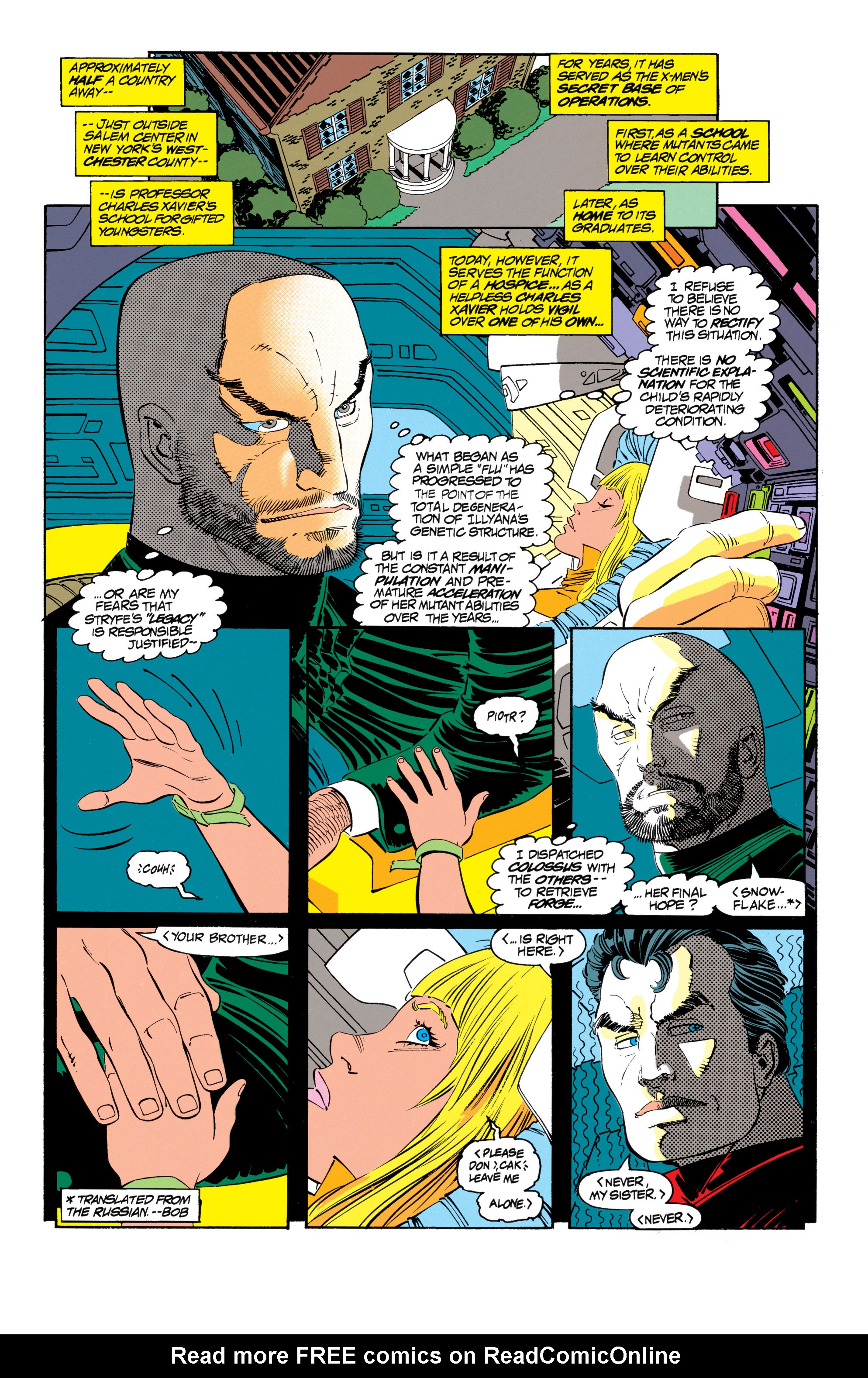Read online Uncanny X-Men (1963) comic -  Issue #302 - 7