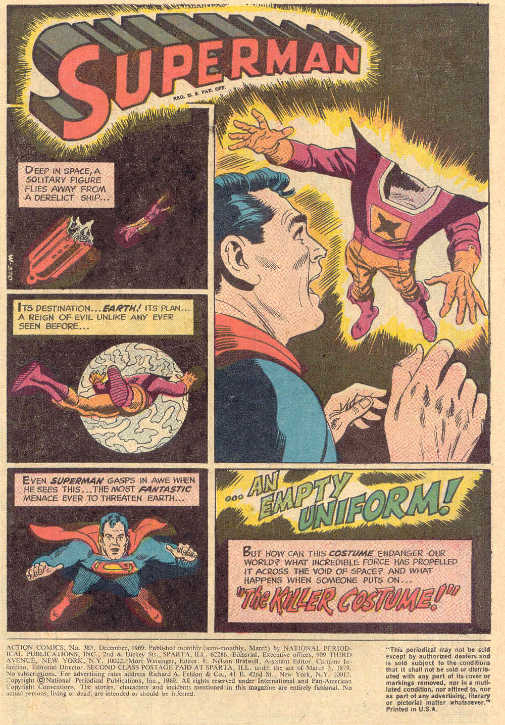 Read online Action Comics (1938) comic -  Issue #383 - 3