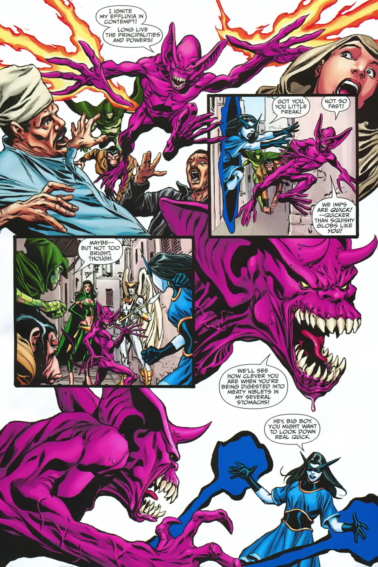 Read online Shadowpact comic -  Issue #23 - 4