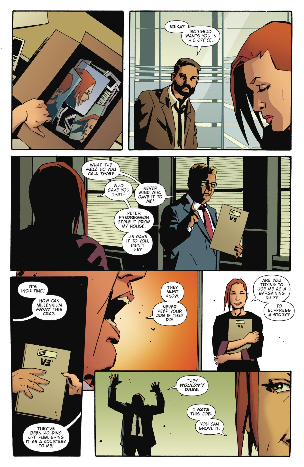 Read online The Girl Who Kicked The Hornet's Nest comic -  Issue # TPB - 201