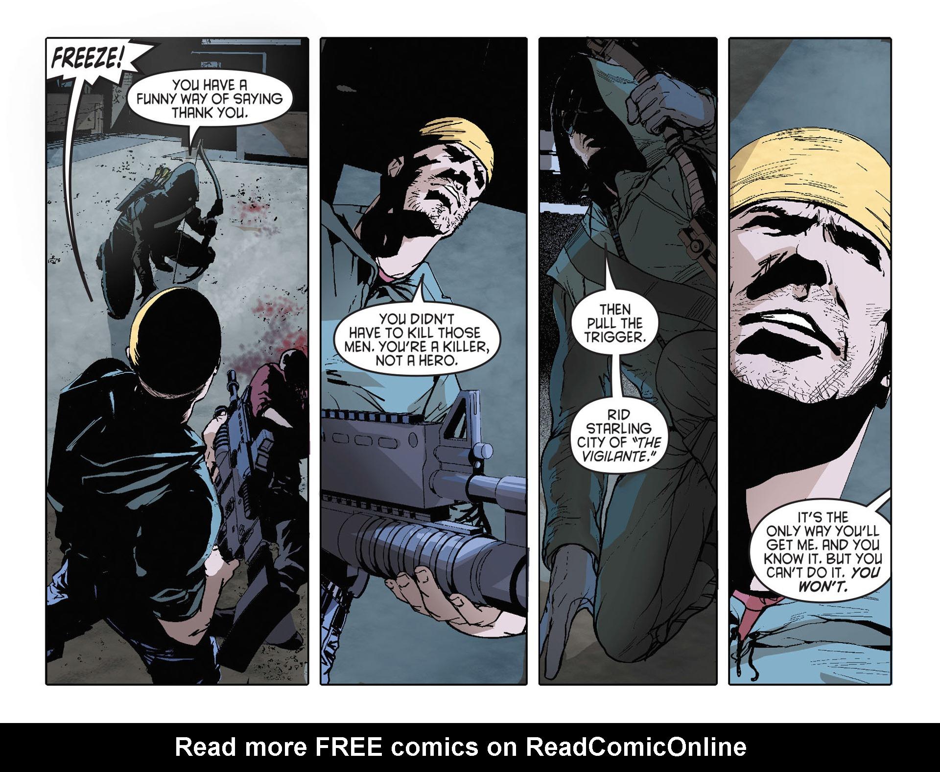 Read online Arrow [II] comic -  Issue #27 - 19