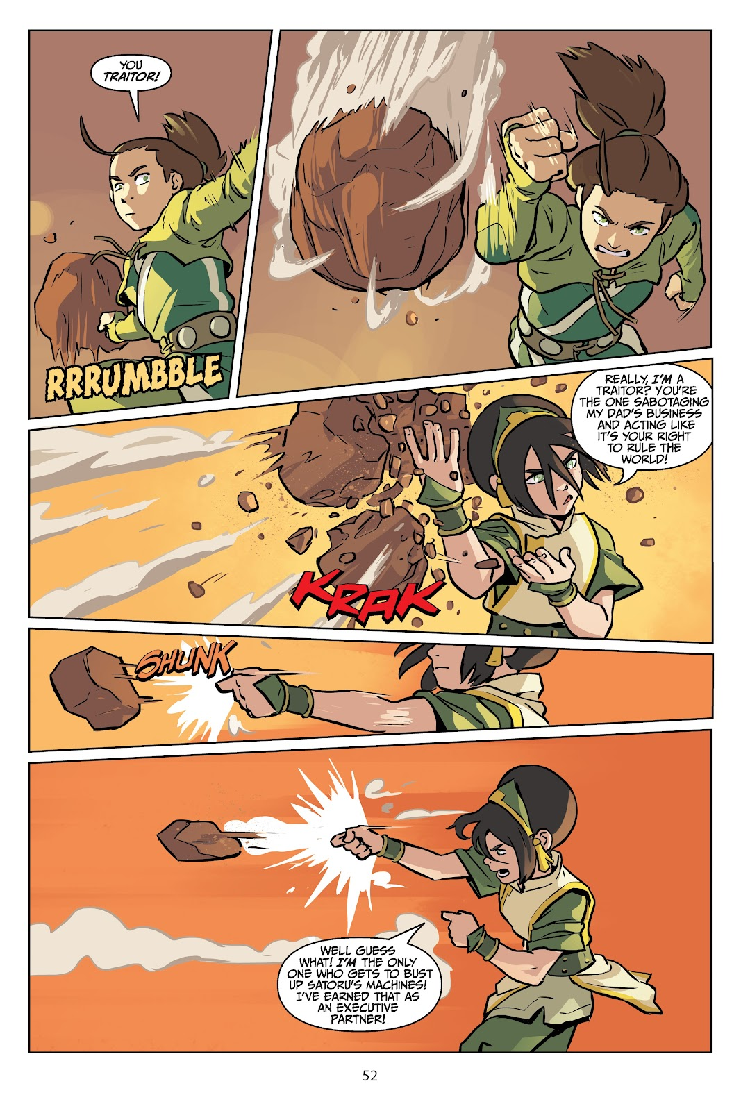 Read online Nickelodeon Avatar: The Last Airbender - Imbalance comic -  Issue # TPB 2 - 53