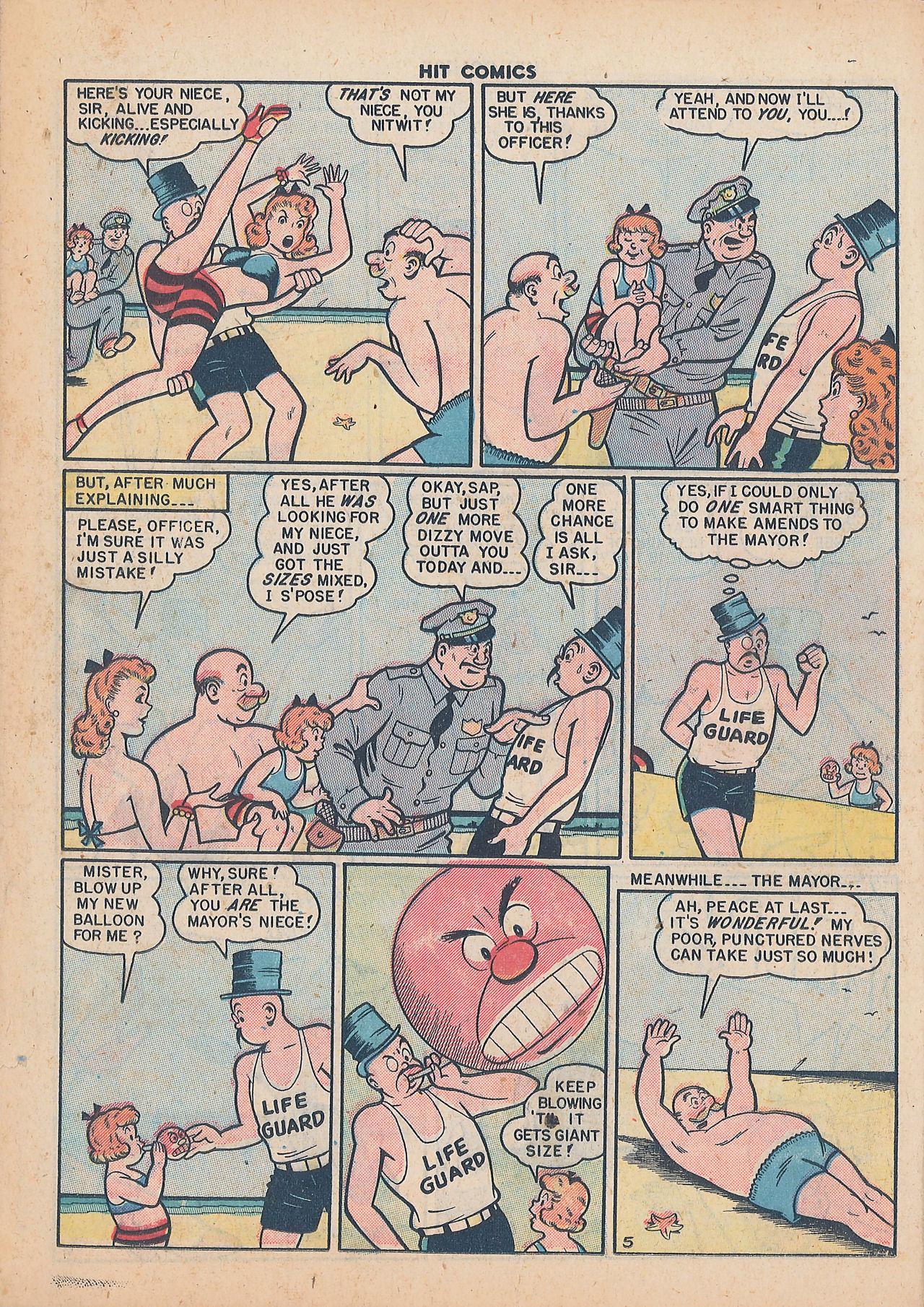 Read online Hit Comics comic -  Issue #64 - 20