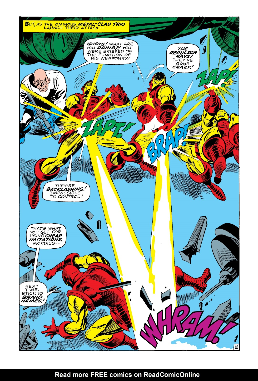 Read online Marvel Masterworks: The Invincible Iron Man comic -  Issue # TPB 4 (Part 3) - 36