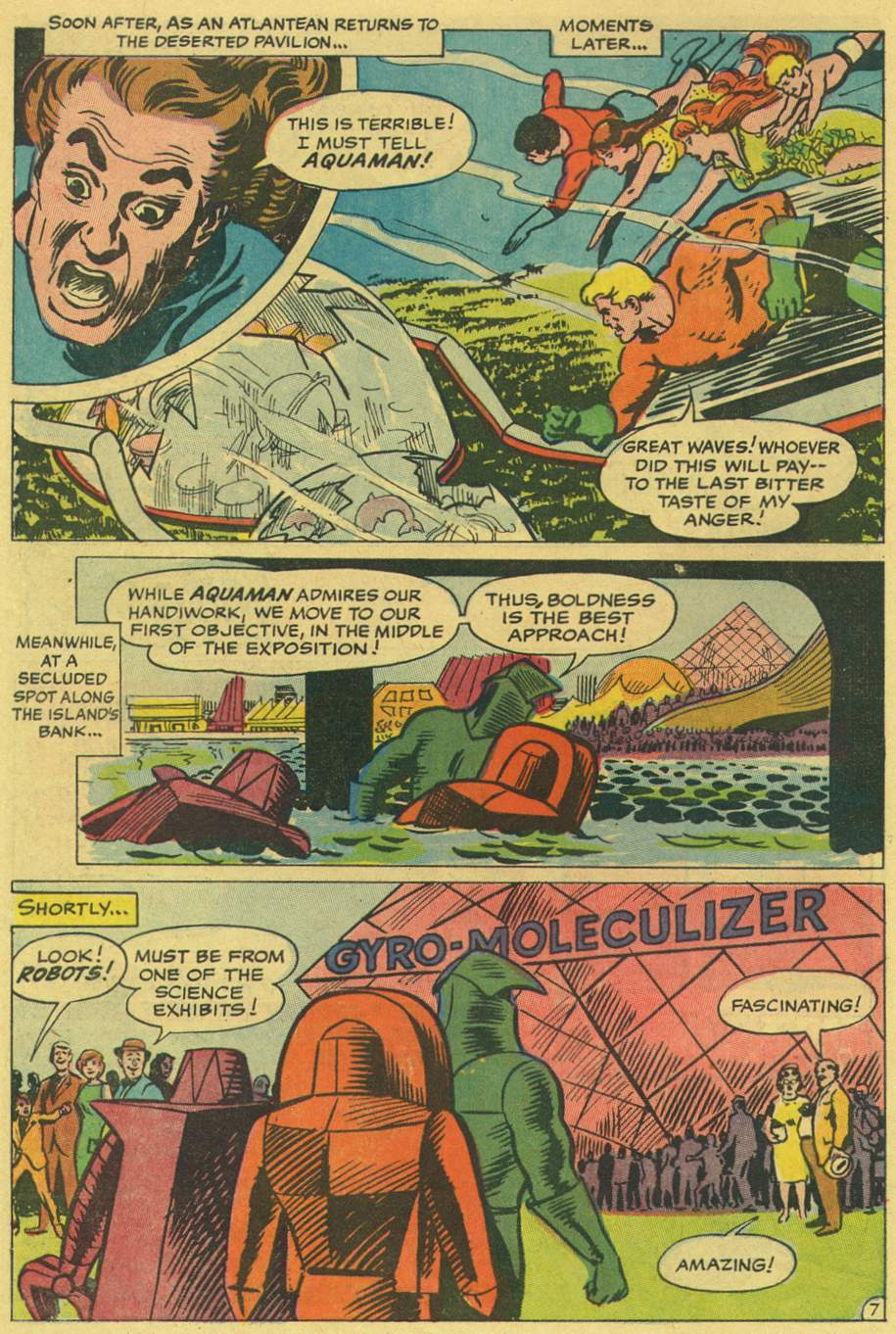 Read online Aquaman (1962) comic -  Issue #36 - 10