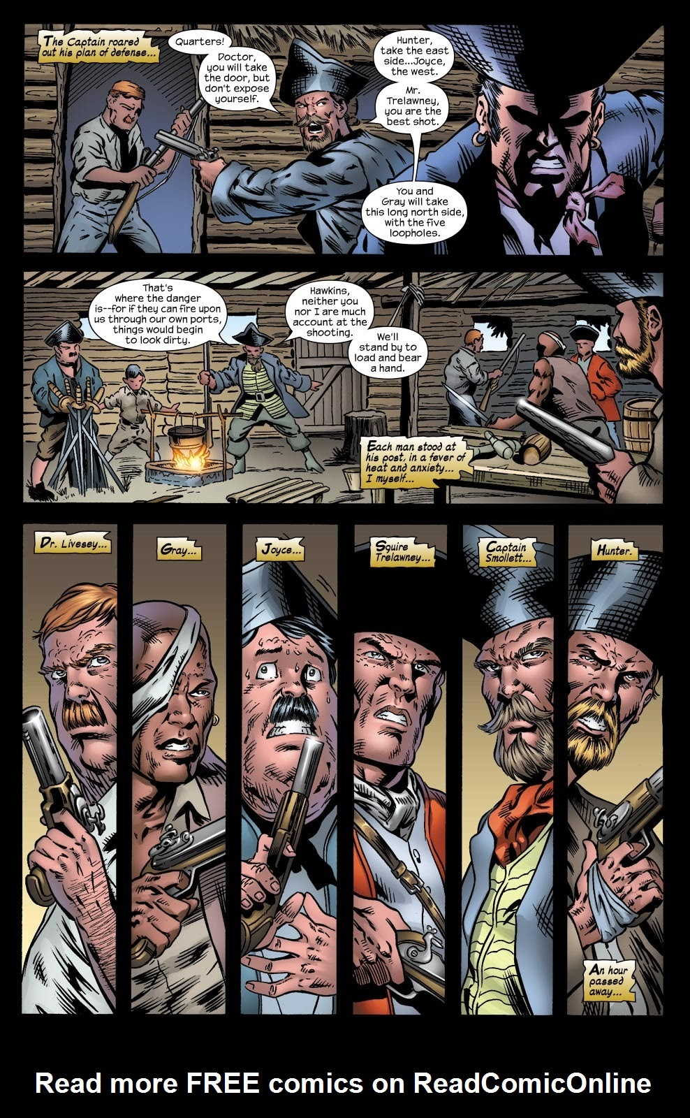 Read online Treasure Island comic -  Issue #4 - 7