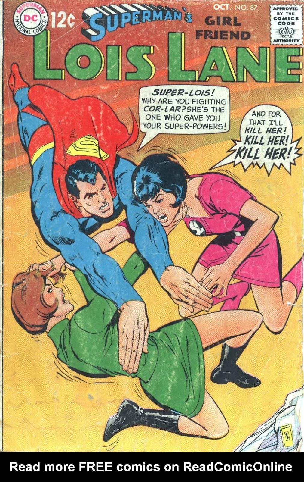 Supermans Girl Friend, Lois Lane 87 Page 1
