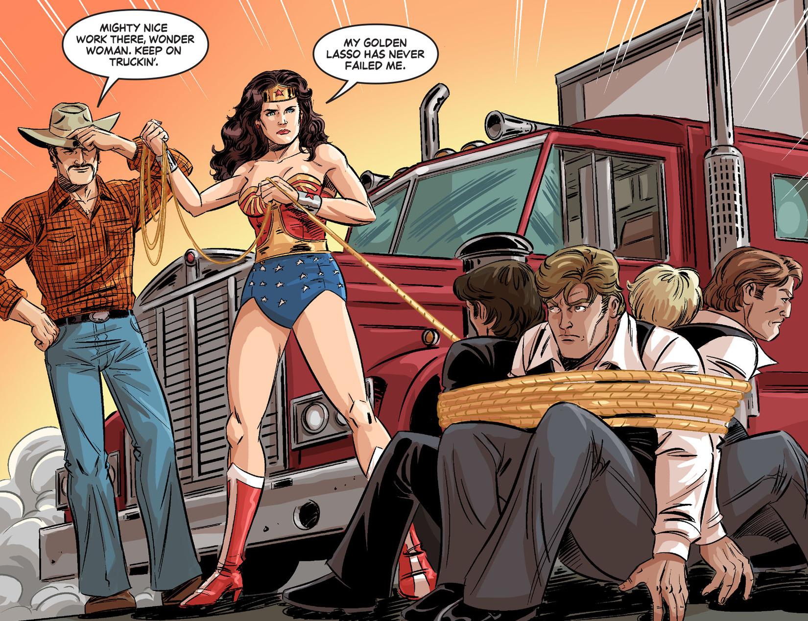 Read online Wonder Woman '77 [I] comic -  Issue #24 - 14