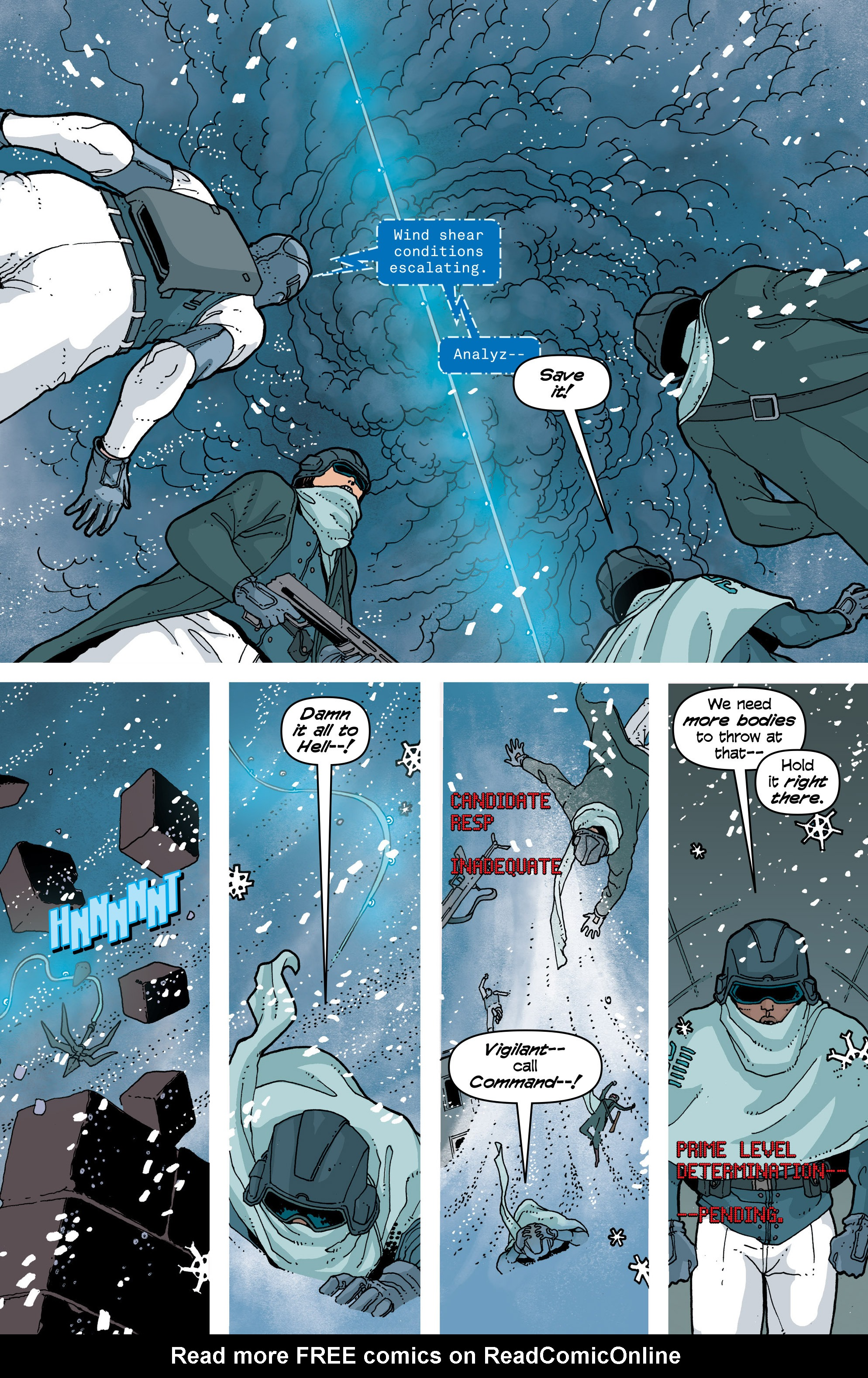 Read online Snowfall comic -  Issue #7 - 5