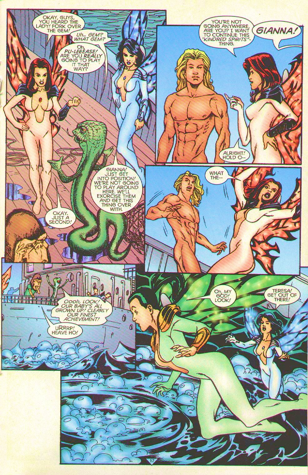 Read online Trinity Angels comic -  Issue #8 - 16