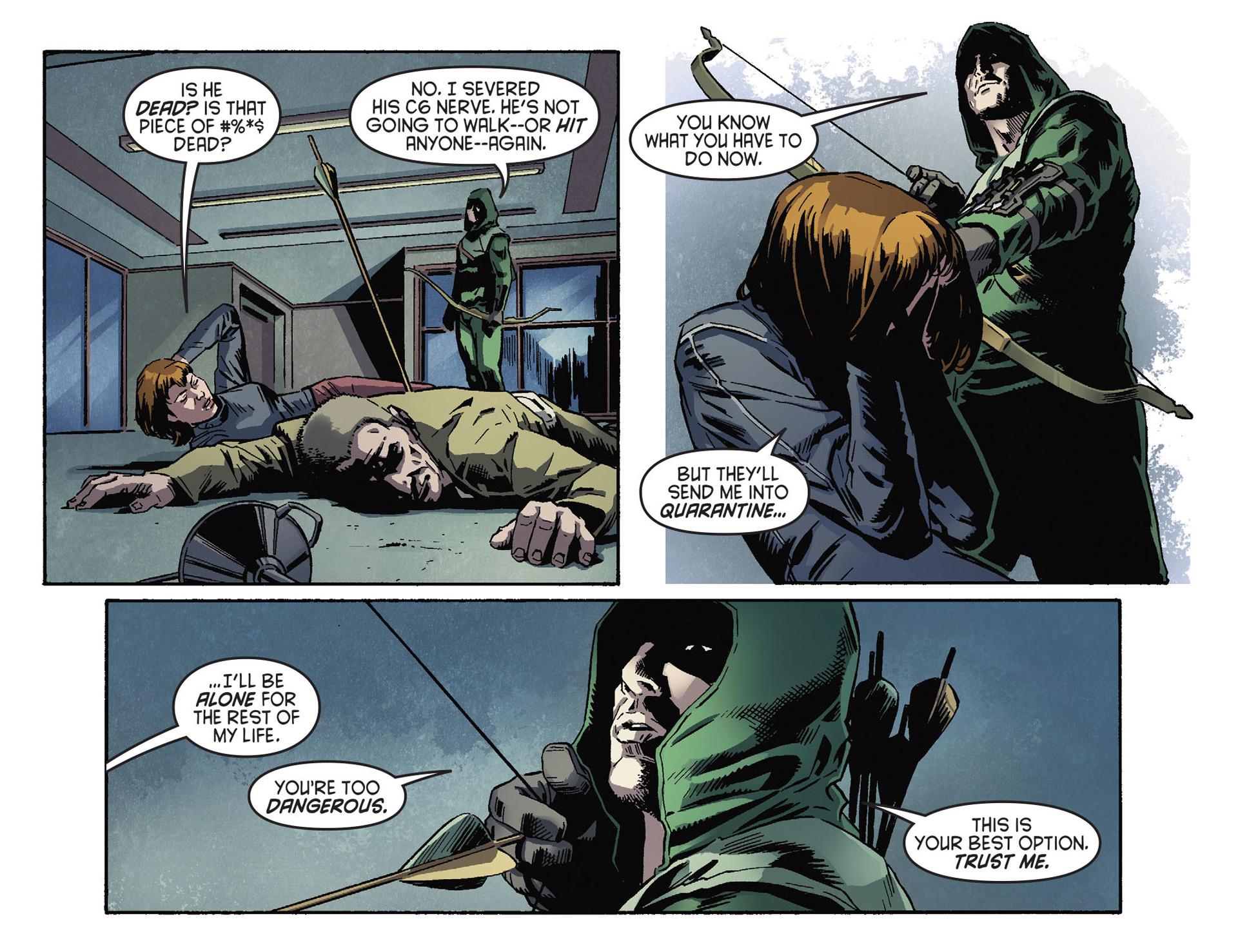 Read online Arrow [II] comic -  Issue #30 - 21