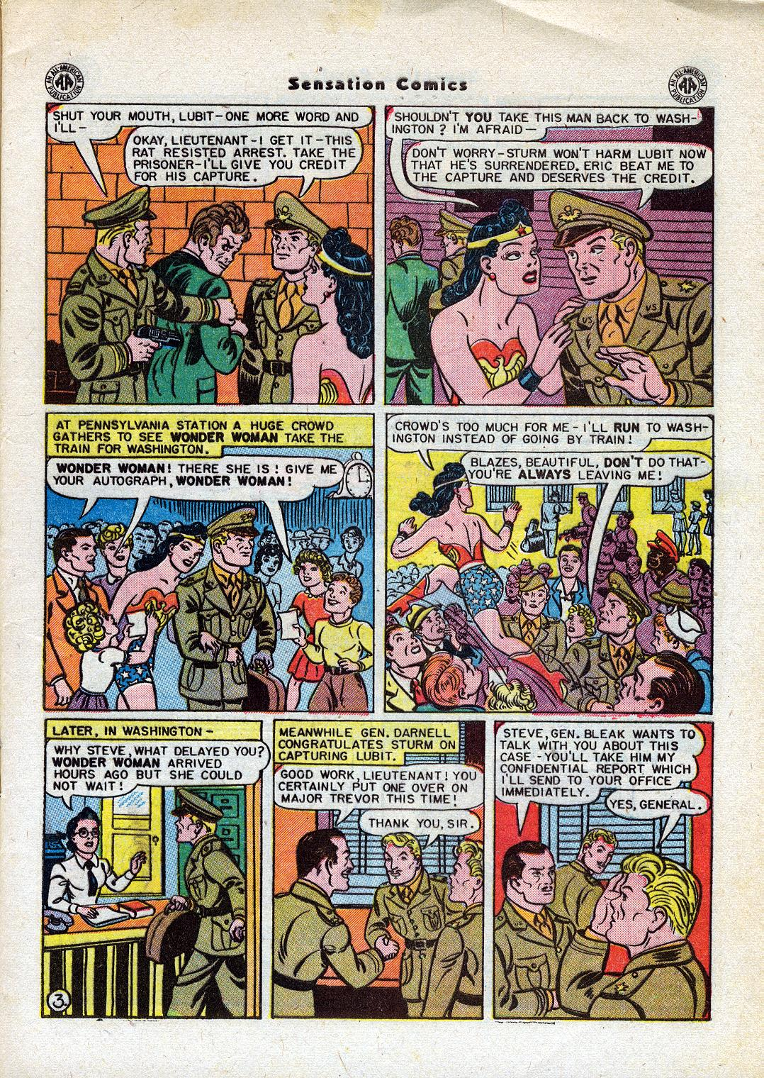 Sensation (Mystery) Comics issue 44 - Page 5